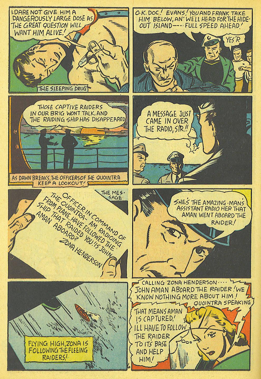 Read online Amazing Man Comics comic -  Issue #19 - 8