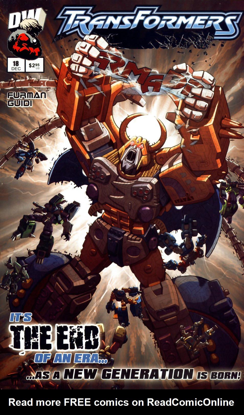 Read online Transformers Armada comic -  Issue #18 - 1