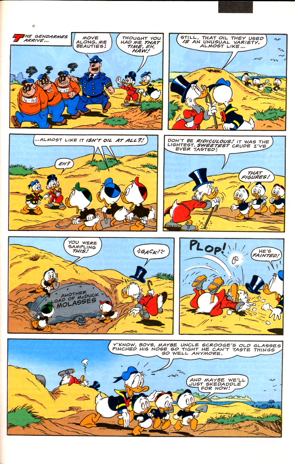 Read online Uncle Scrooge (1953) comic -  Issue #282 - 29
