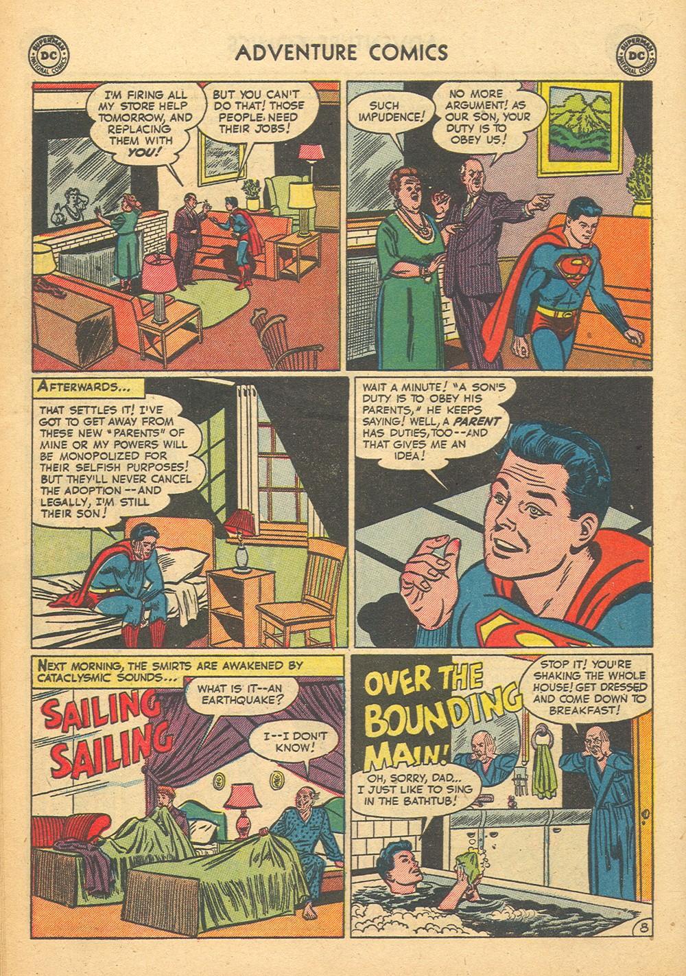 Read online Adventure Comics (1938) comic -  Issue #176 - 10