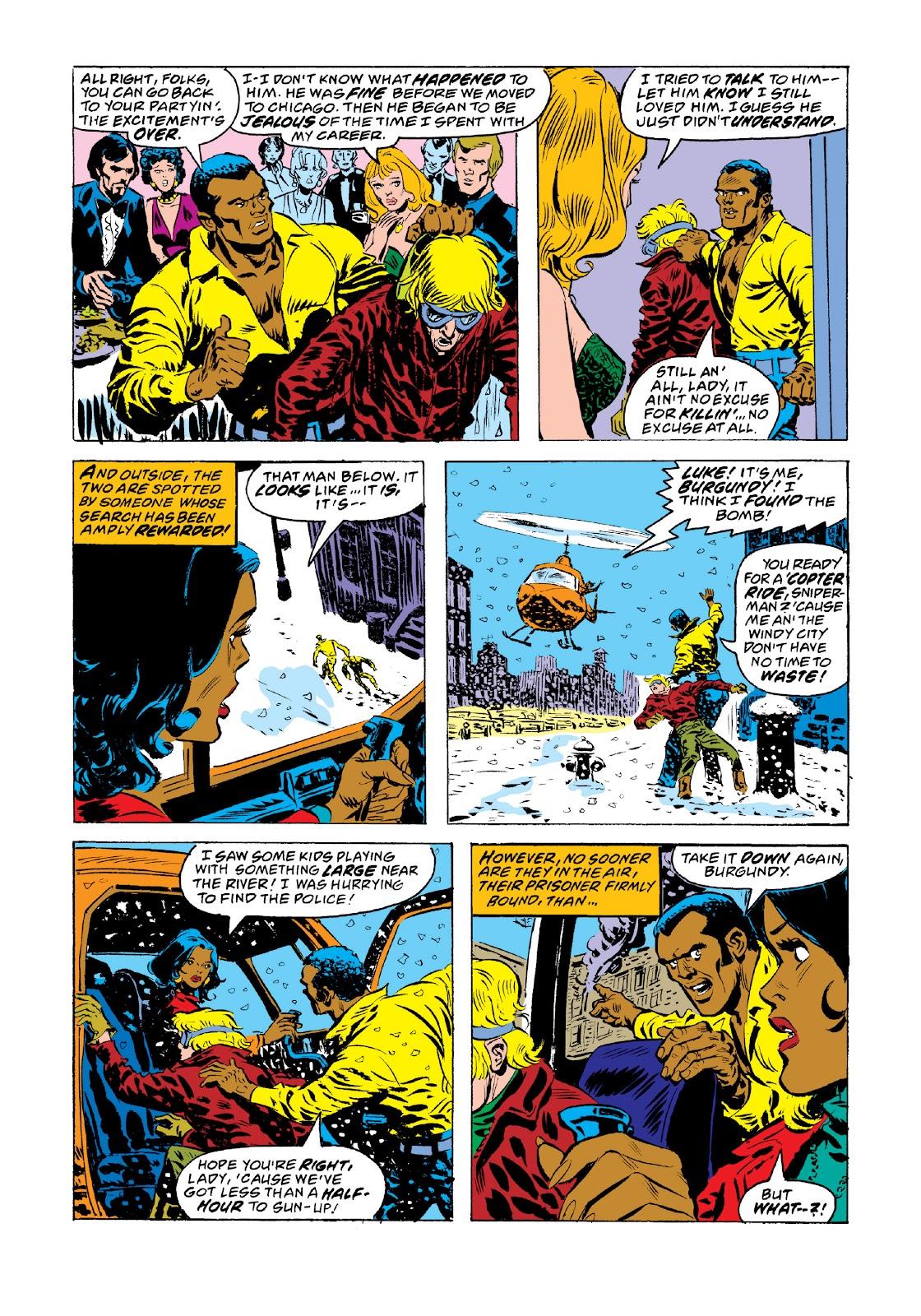 Read online Marvel Masterworks: Luke Cage, Power Man comic -  Issue # TPB 3 (Part 3) - 95