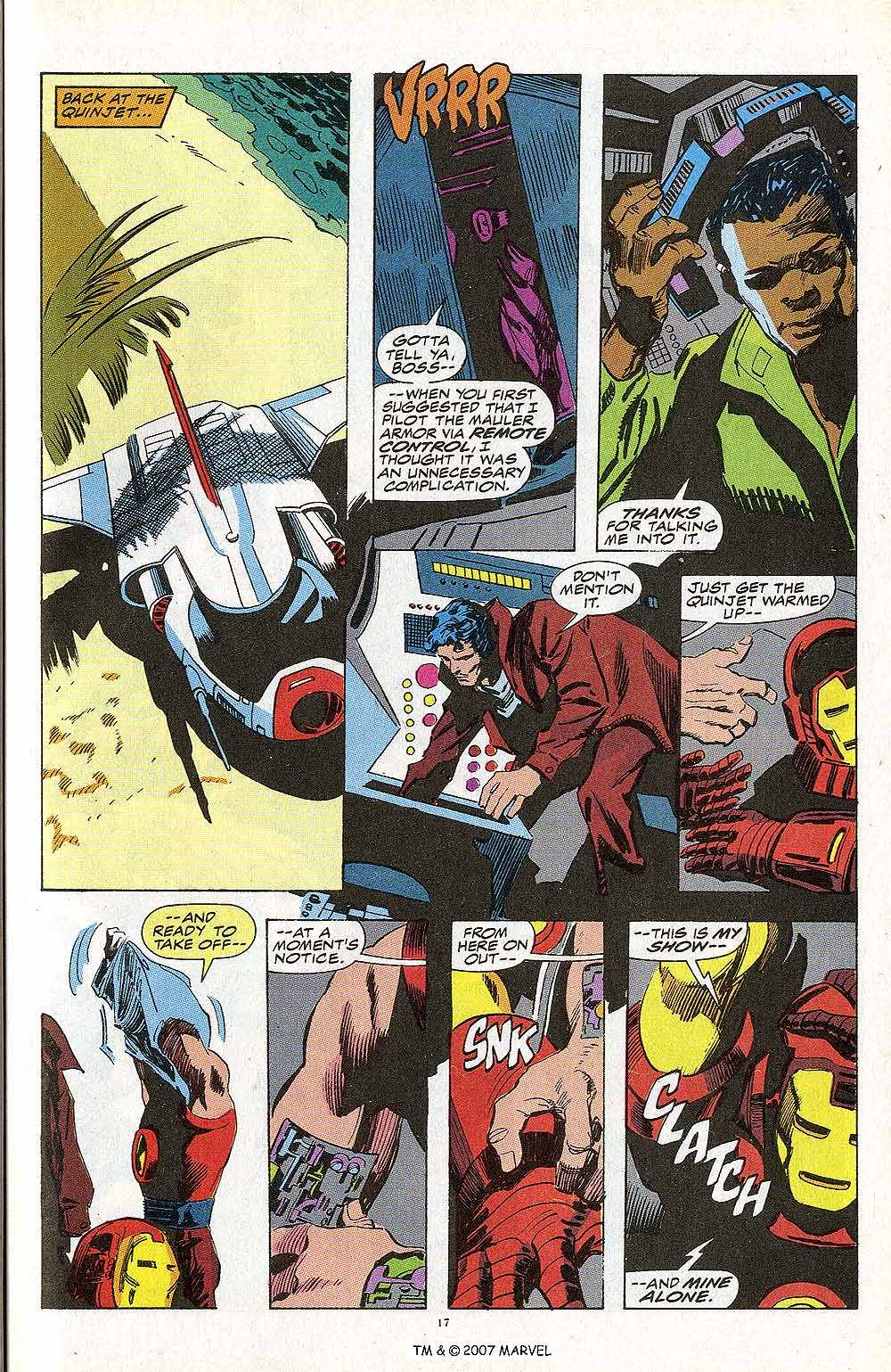 Iron Man Annual issue 13 - Page 19
