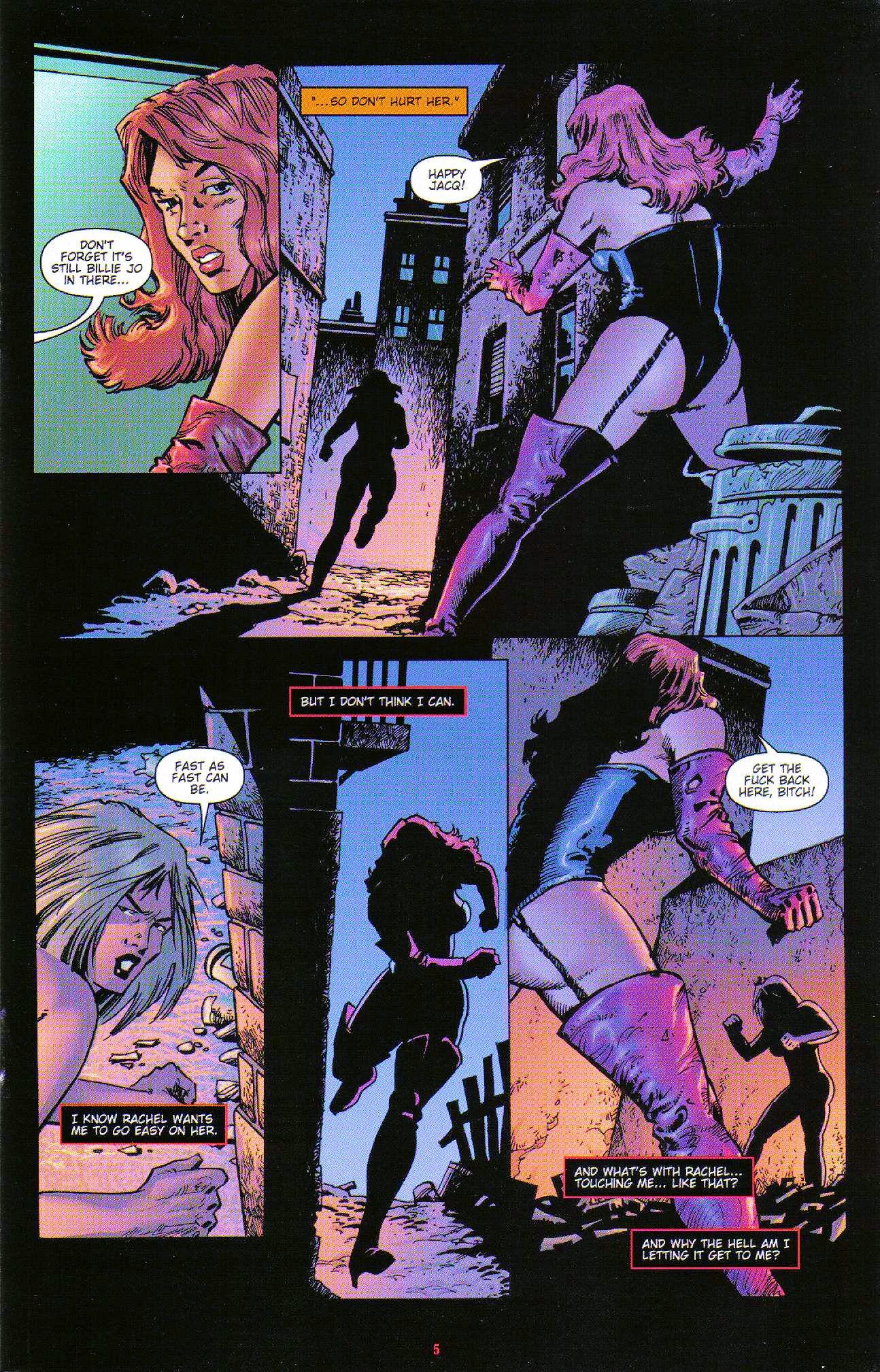 Read online Dominatrix comic -  Issue #6 - 7