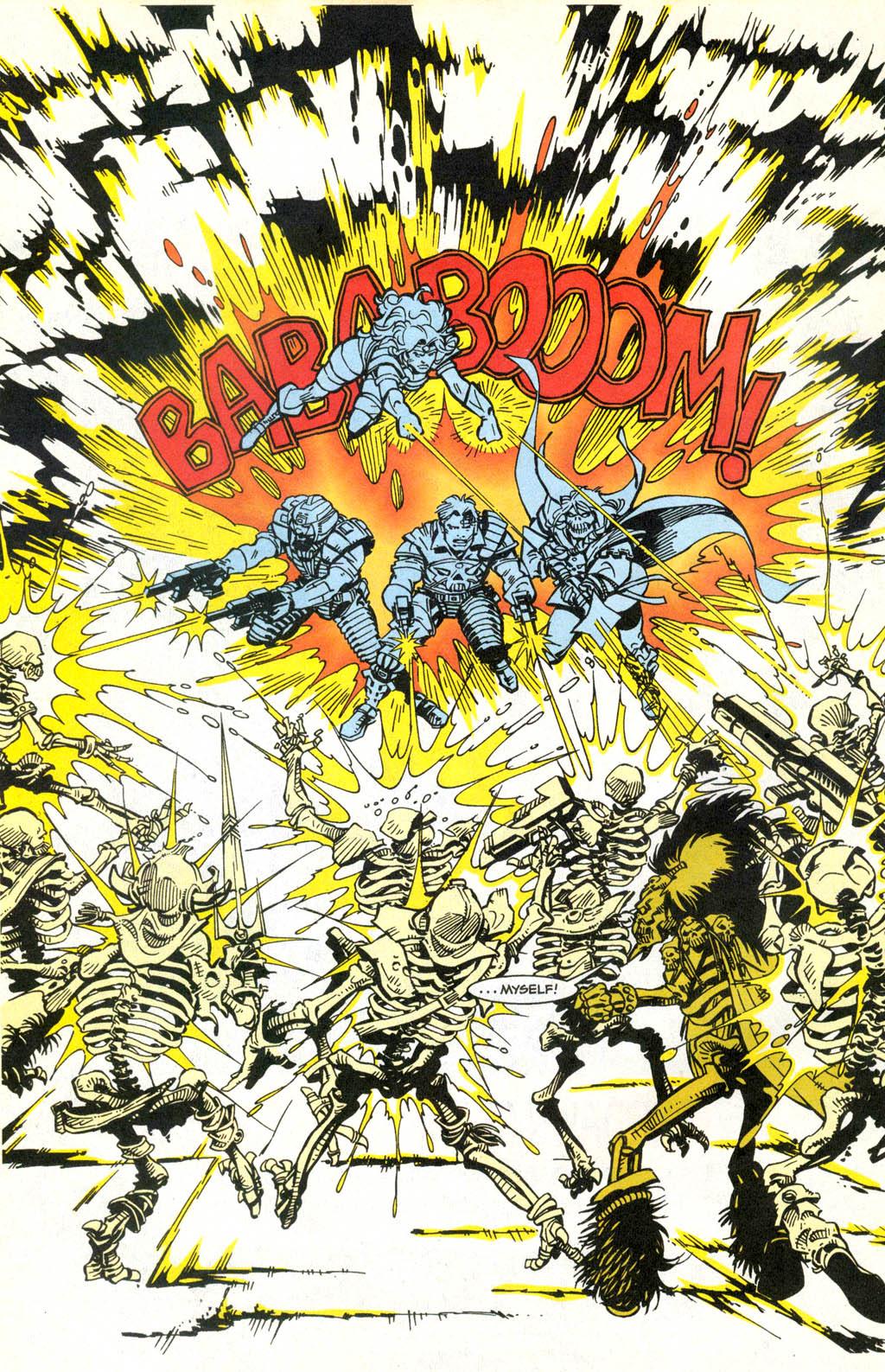 Skeleton Warriors Issue #2 #2 - English 17
