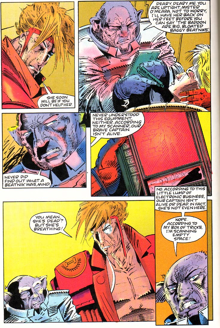 Read online Cyberspace 3000 comic -  Issue #1 - 11
