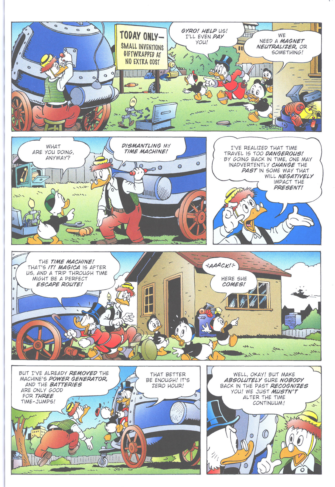 Read online Uncle Scrooge (1953) comic -  Issue #363 - 43