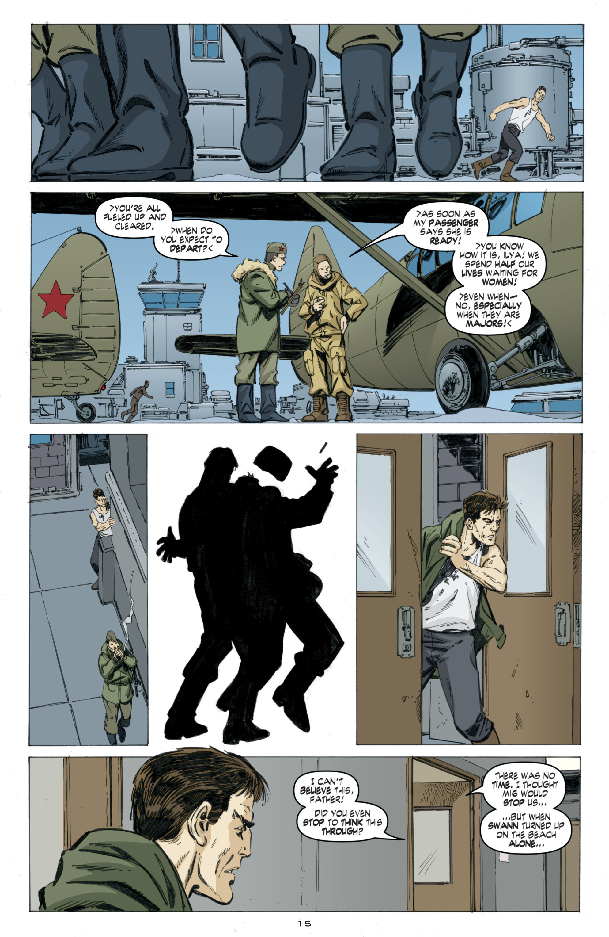 Read online Cold War comic -  Issue # TPB - 99