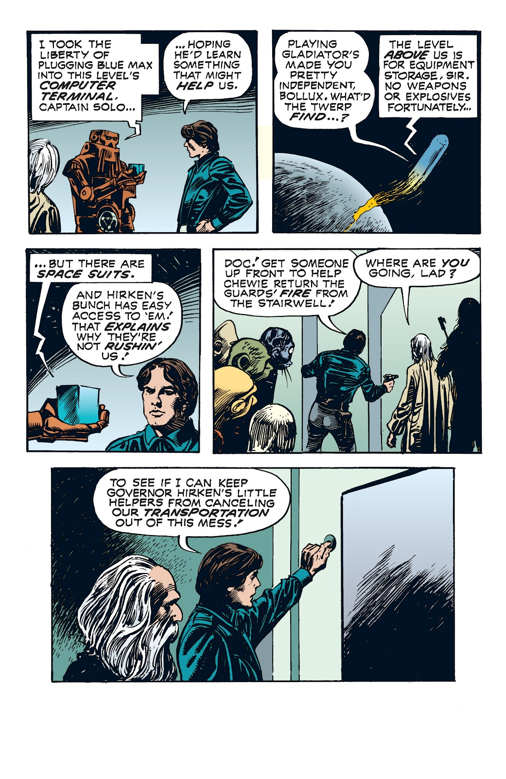 Read online Star Wars Legends: The Newspaper Strips - Epic Collection comic -  Issue # TPB (Part 4) - 70