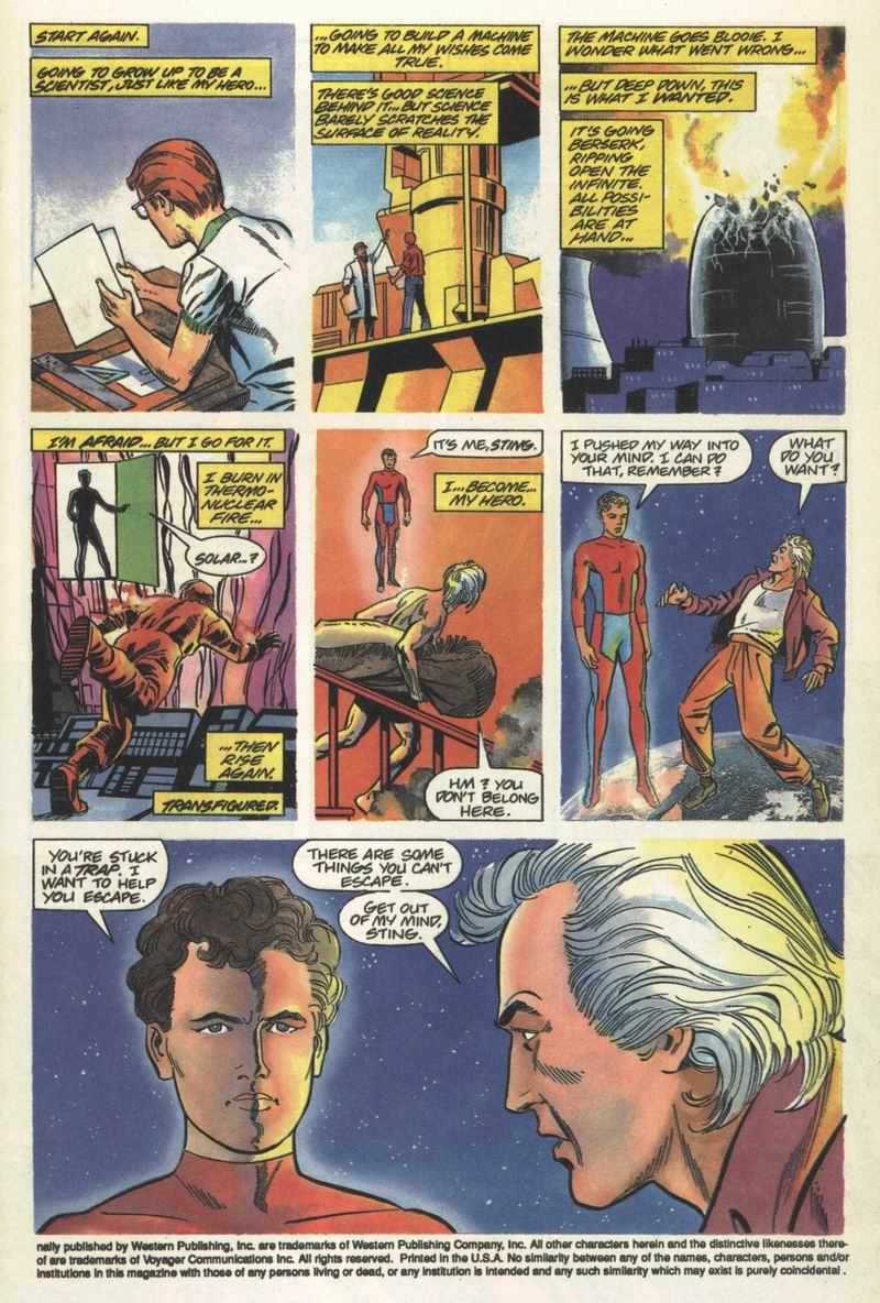 Read online Solar, Man of the Atom comic -  Issue #13 - 4