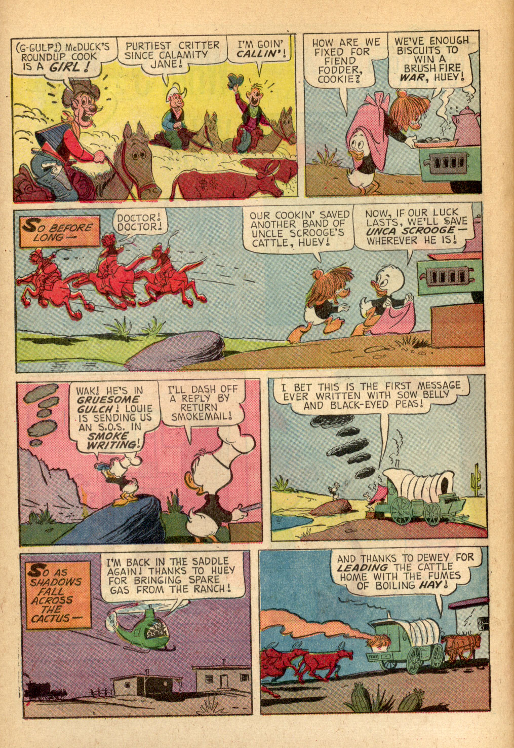 Read online Uncle Scrooge (1953) comic -  Issue #69 - 20