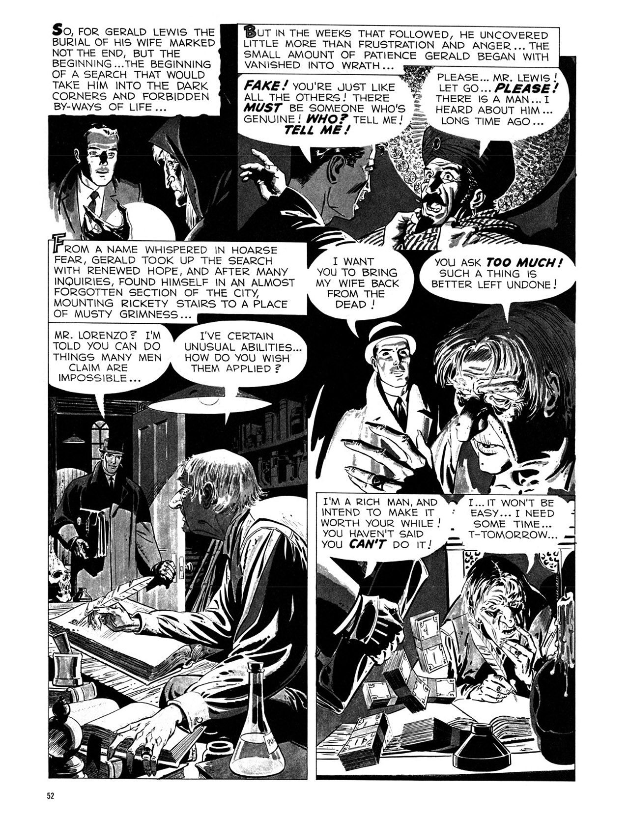 Read online Eerie Archives comic -  Issue # TPB 1 - 53