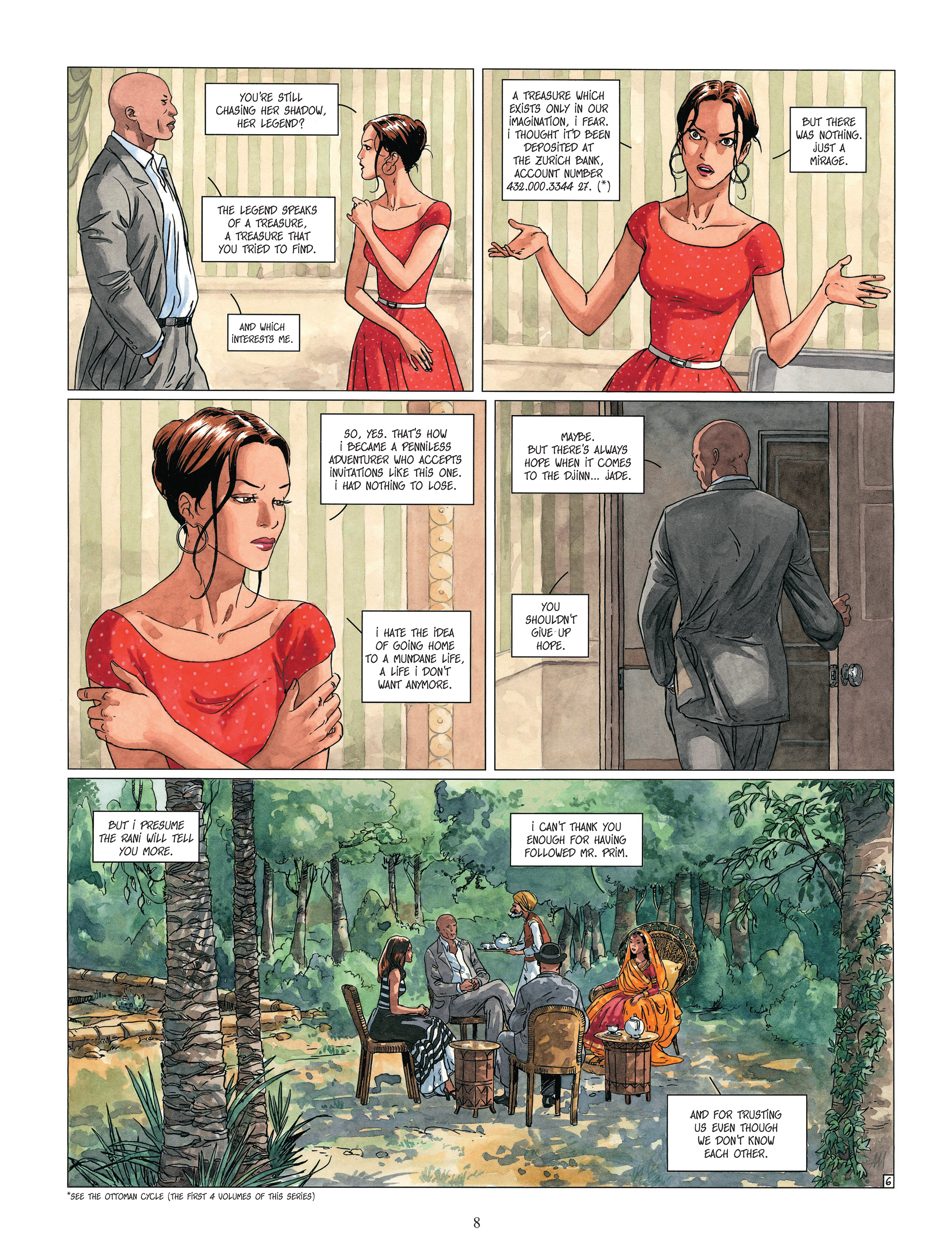 Read online Djinn comic -  Issue #13 - 9