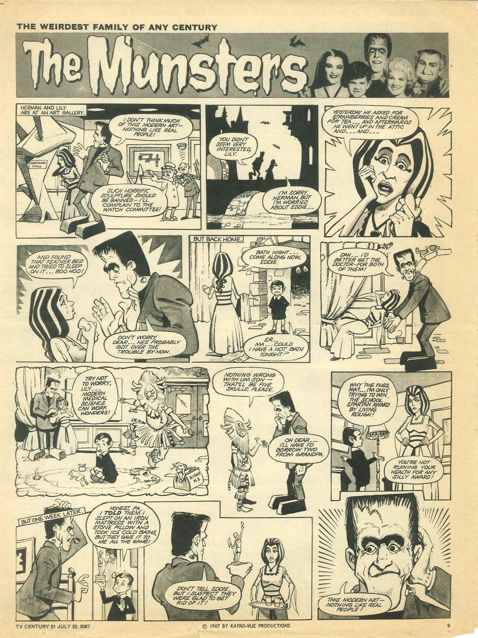 Read online TV Century 21 (TV 21) comic -  Issue #131 - 9