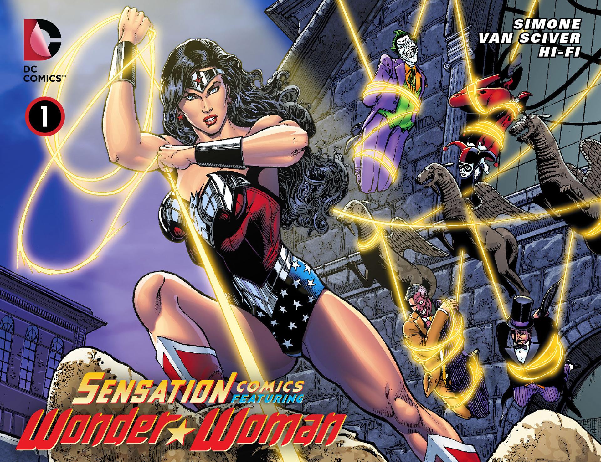 Read online Sensation Comics Featuring Wonder Woman comic -  Issue #1 - 1