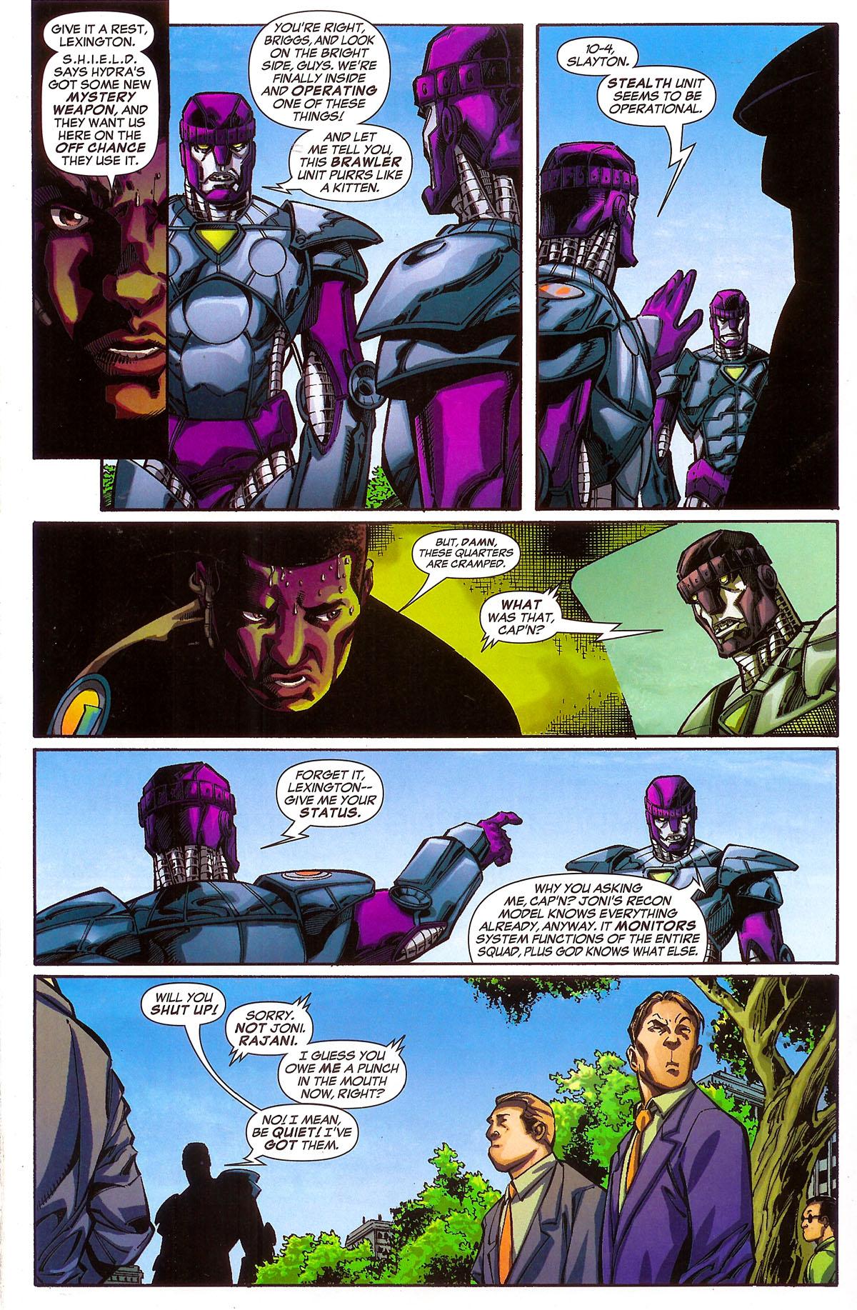 Read online Sentinel Squad O*N*E comic -  Issue #2 - 14