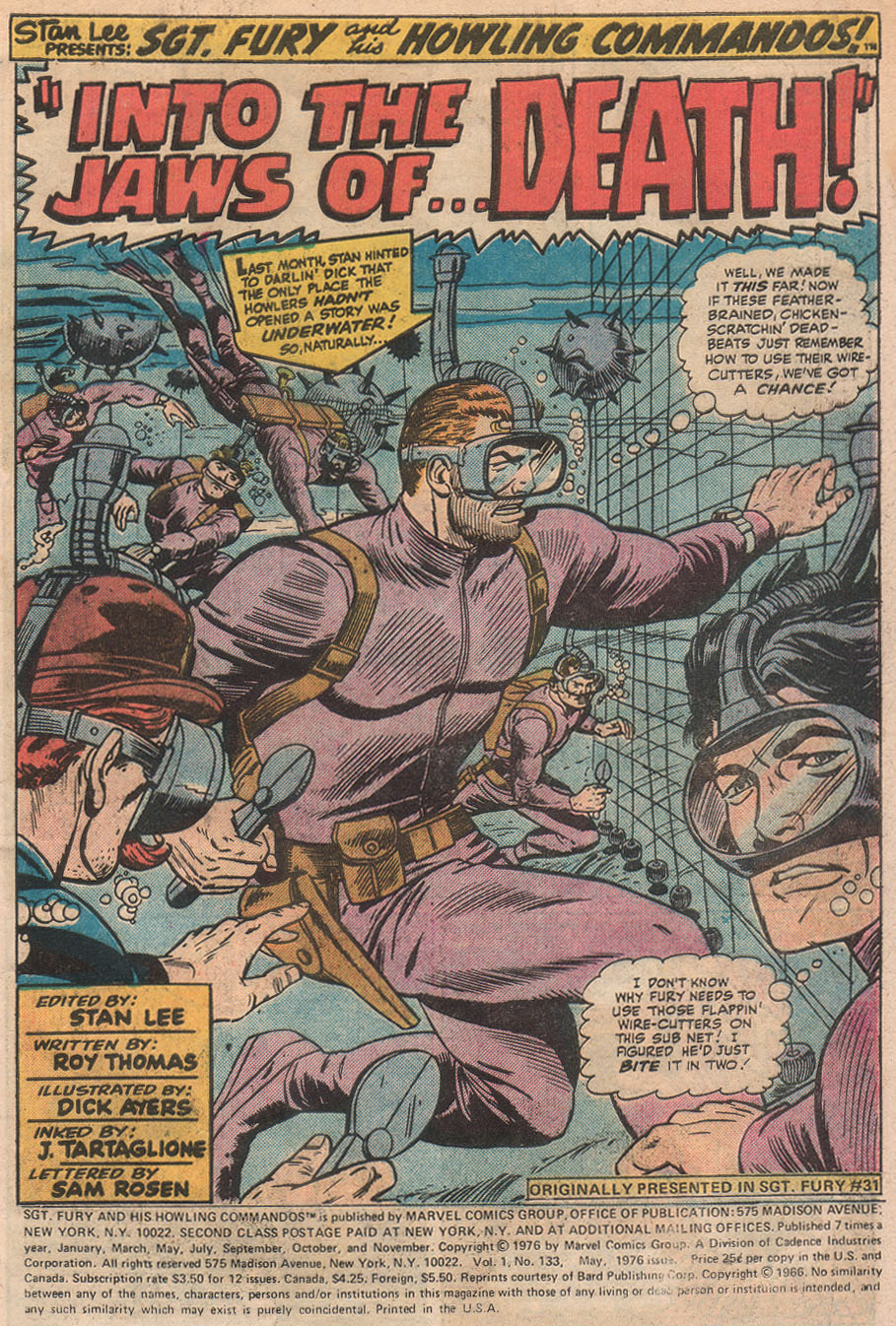 Read online Sgt. Fury comic -  Issue #133 - 3