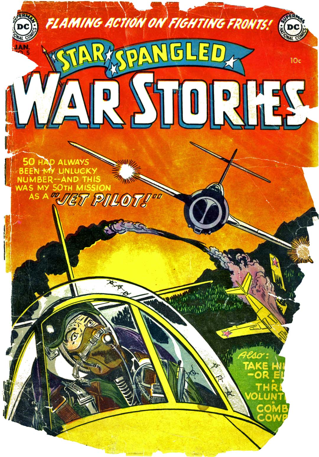 Star Spangled War Stories (1952) issue 5 - Page 1