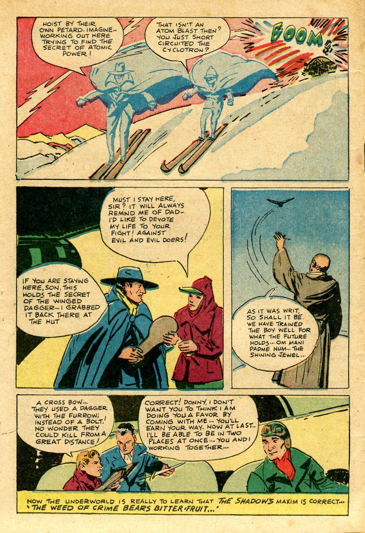 Read online Shadow Comics comic -  Issue #69 - 48