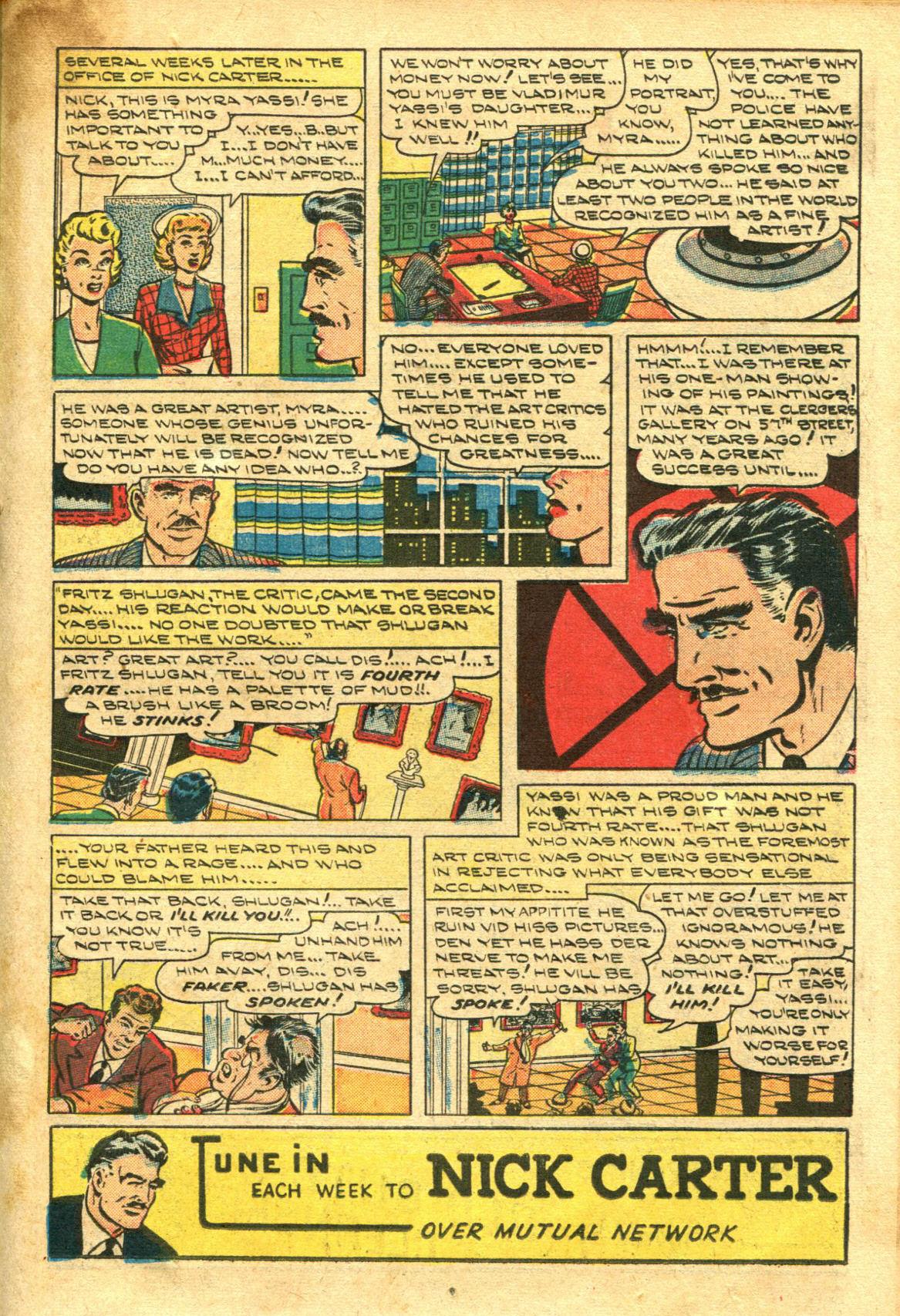 Read online Shadow Comics comic -  Issue #98 - 29