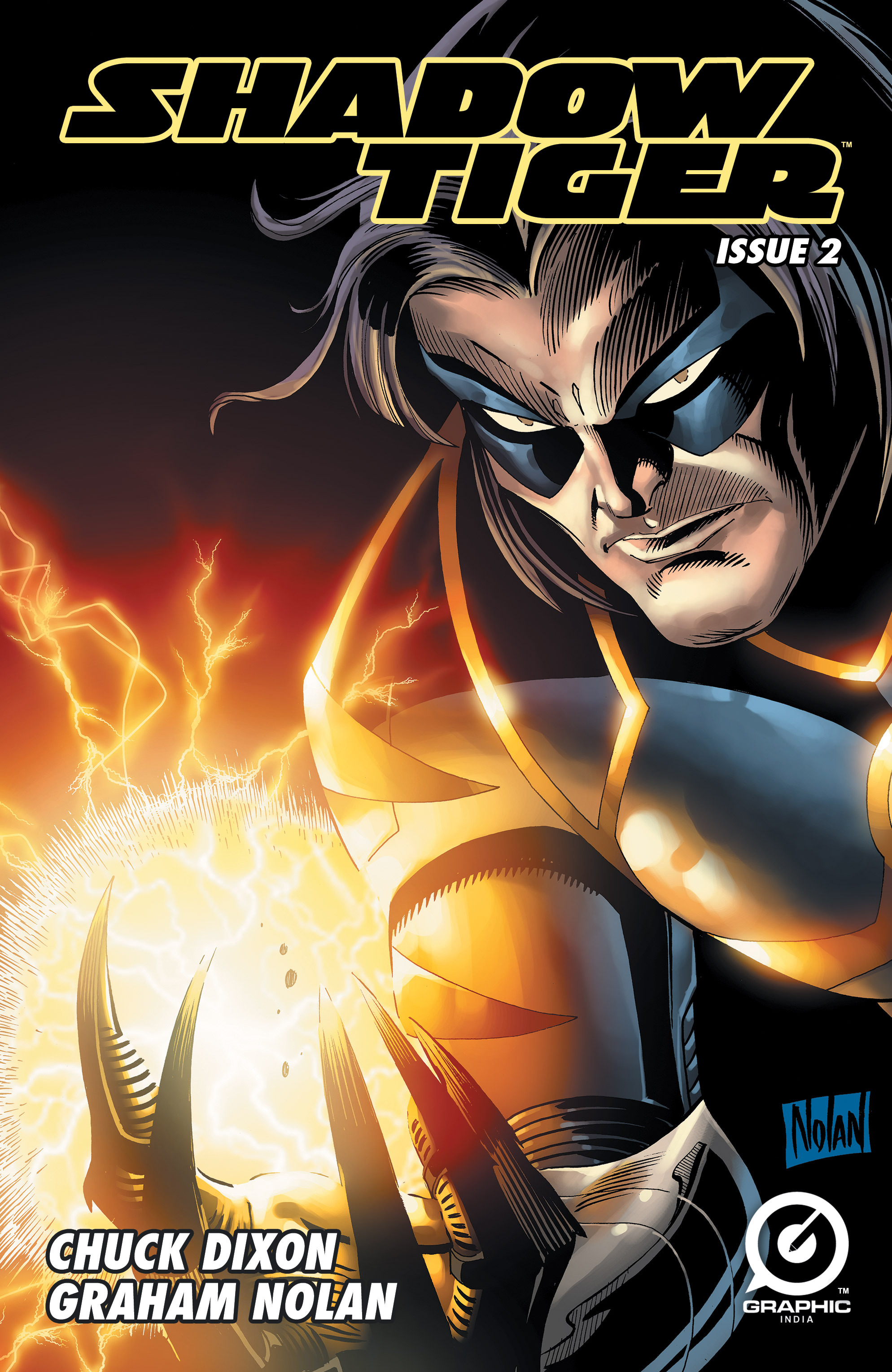 Read online Shadow Tiger comic -  Issue #2 - 1