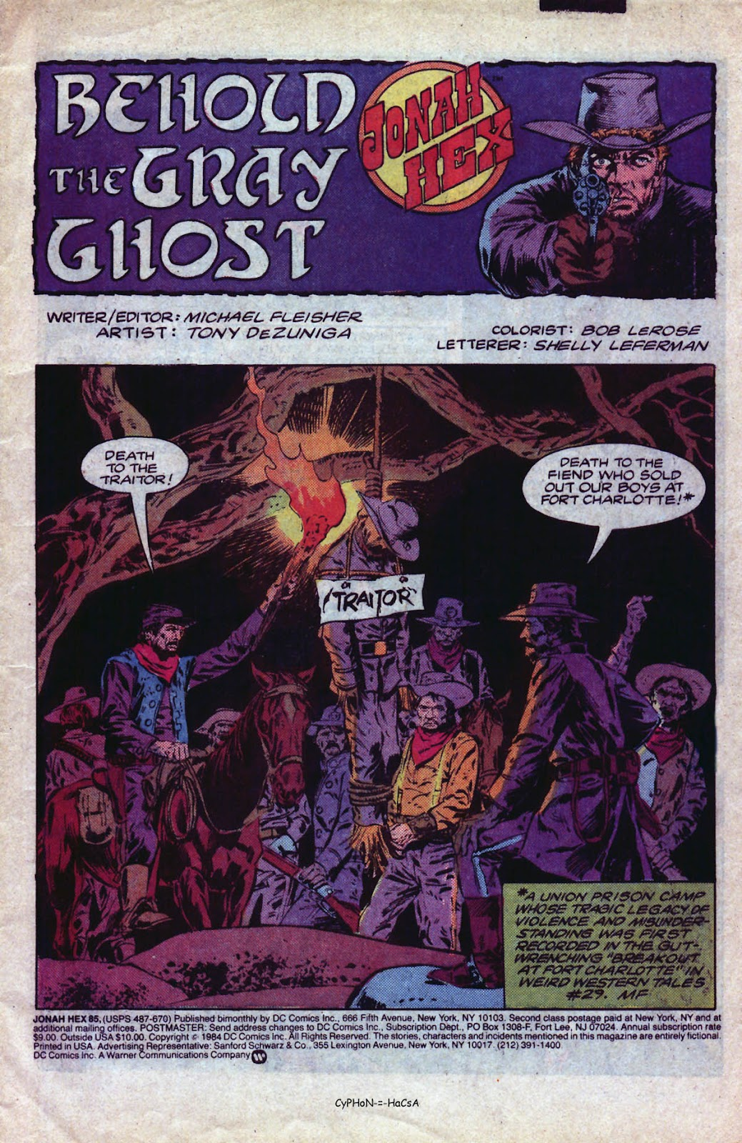 Jonah Hex (1977) 85 Page 2