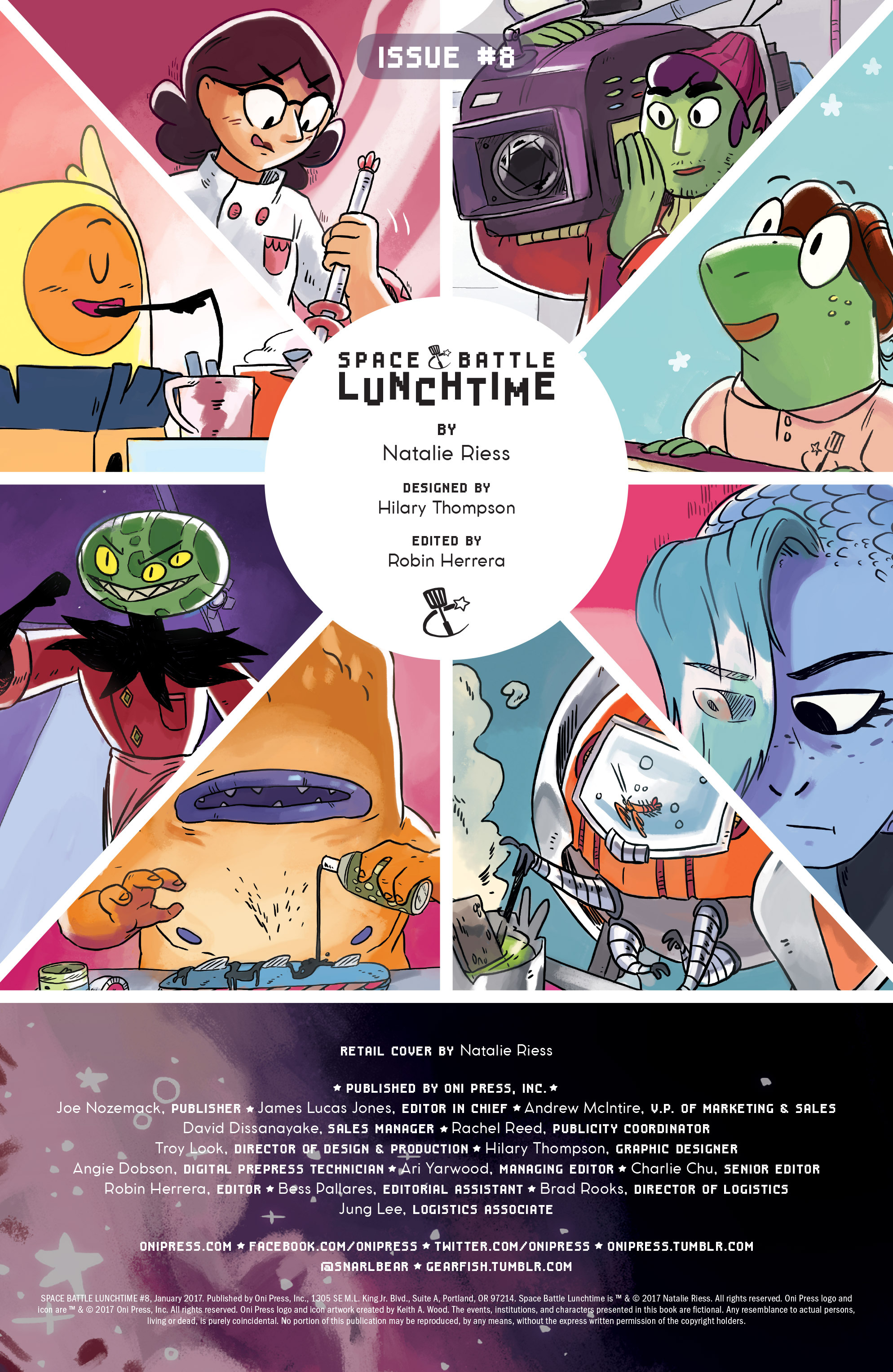 Read online Space Battle Lunchtime comic -  Issue #8 - 2