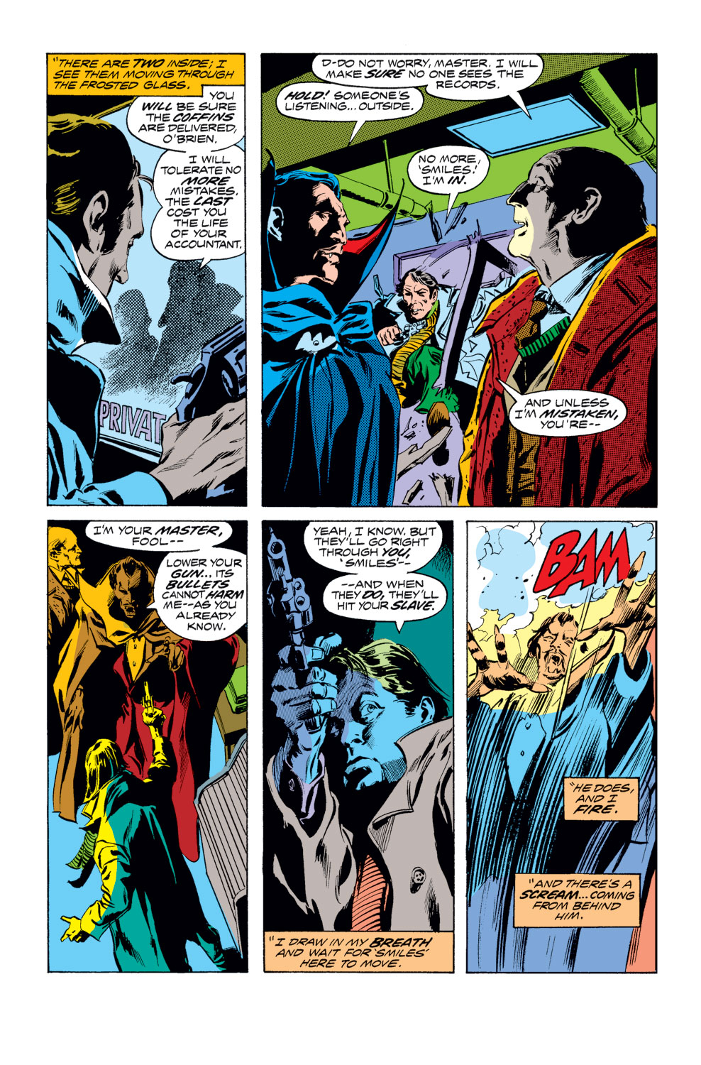 Tomb of Dracula (1972) issue 25 - Page 11