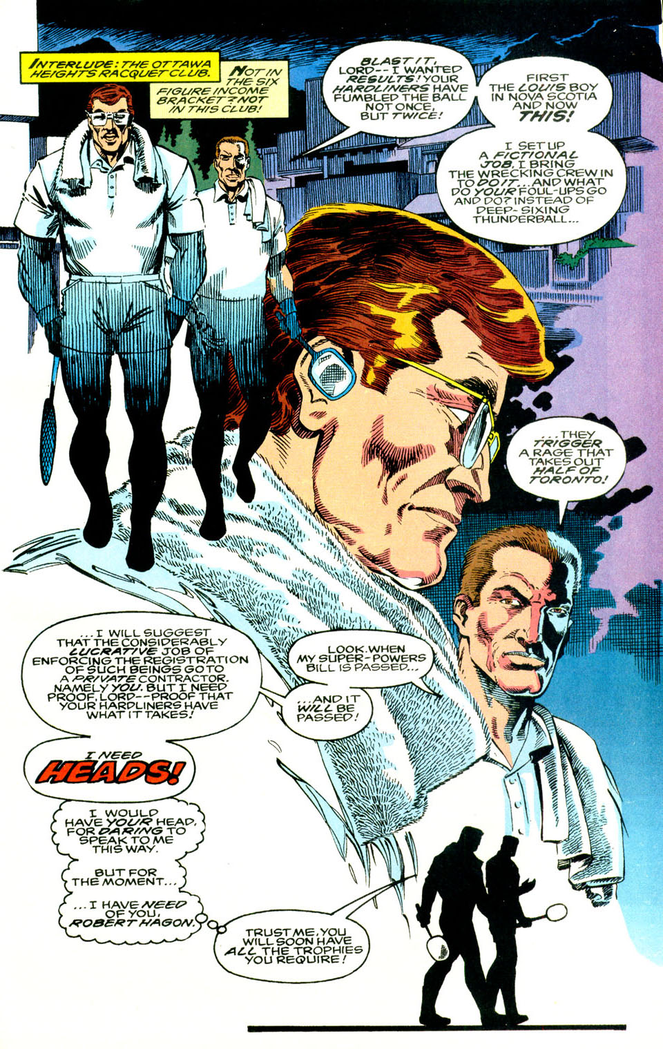 Read online Alpha Flight (1983) comic -  Issue #119 - 22