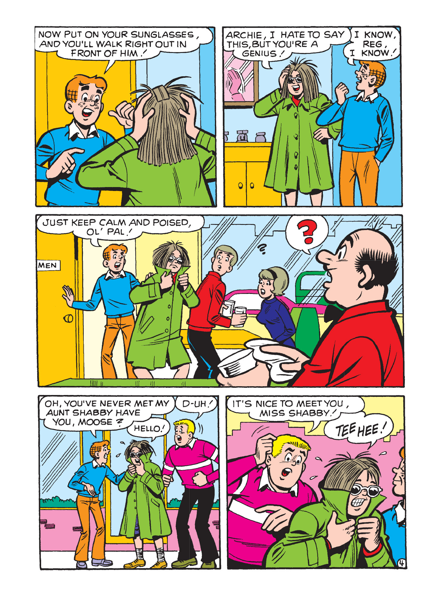 Read online Archie's Funhouse Double Digest comic -  Issue #9 - 142