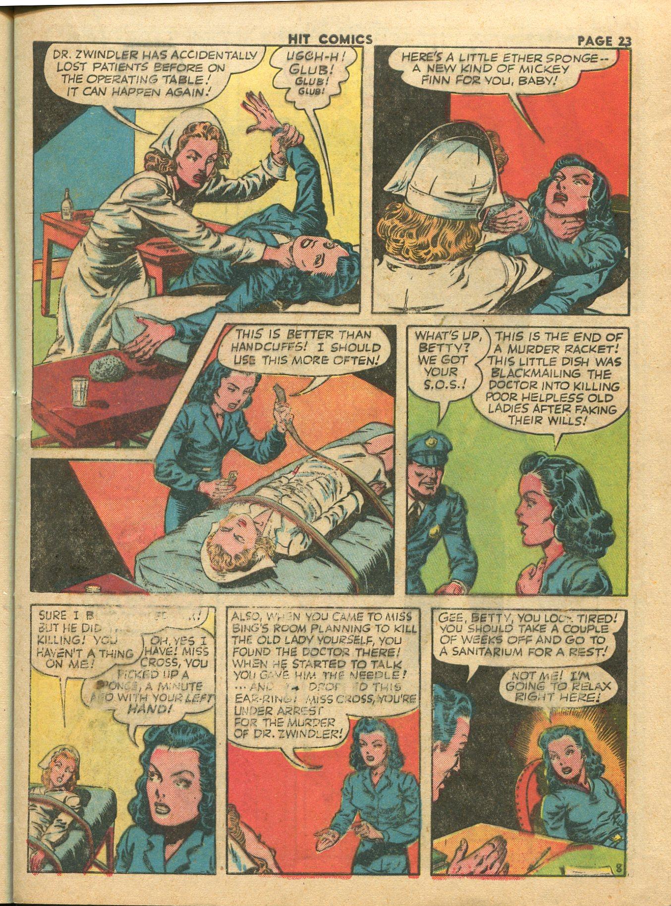 Read online Hit Comics comic -  Issue #28 - 26