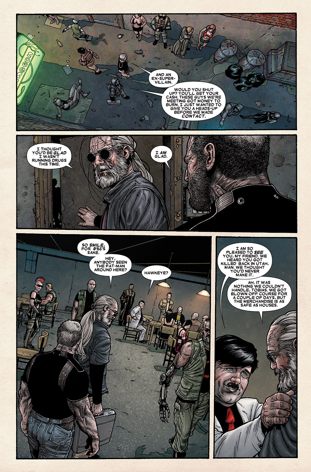 Read online Wolverine: Old Man Logan comic -  Issue # Full - 131