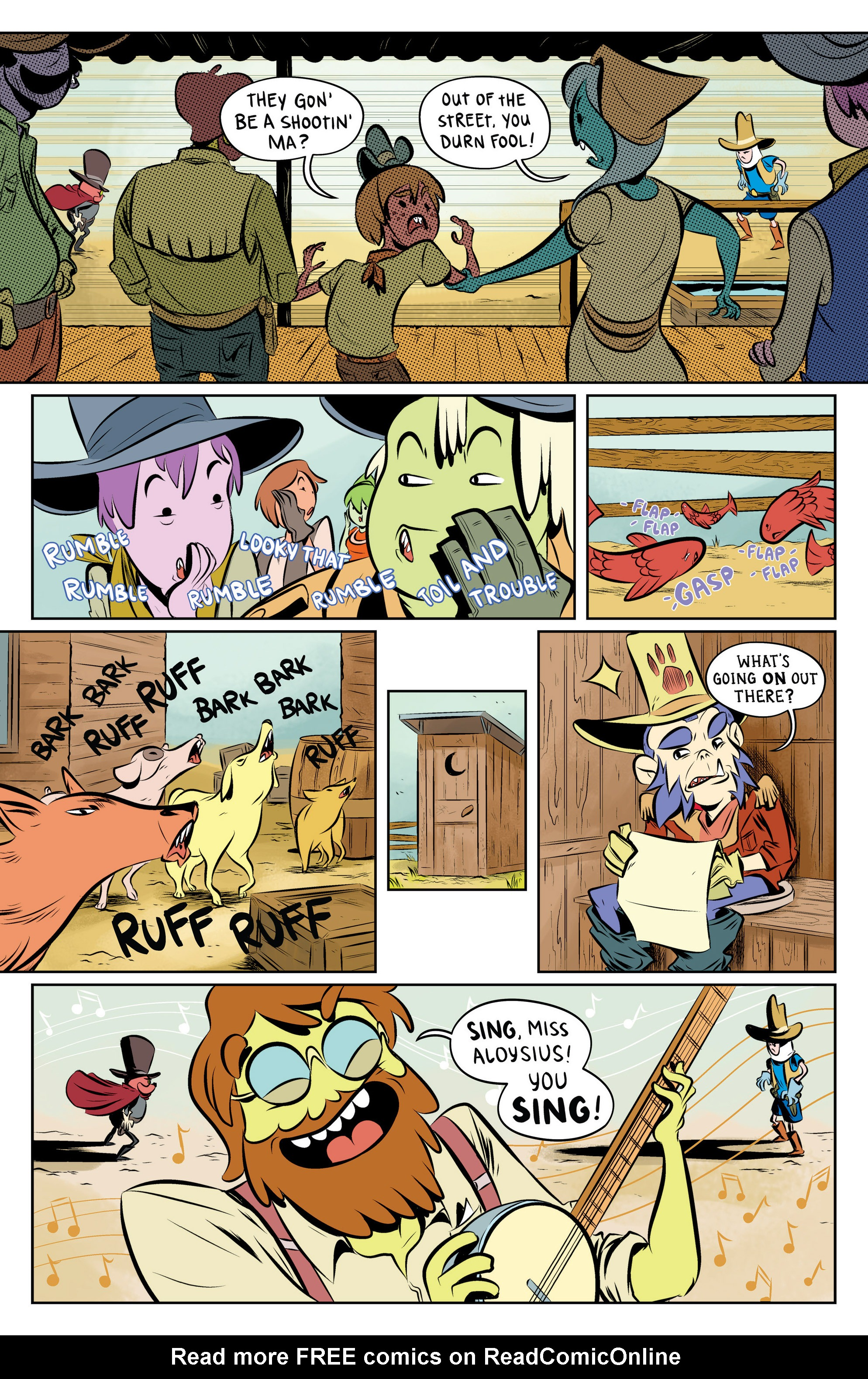Read online Adventure Time: The Flip Side comic -  Issue #5 - 22