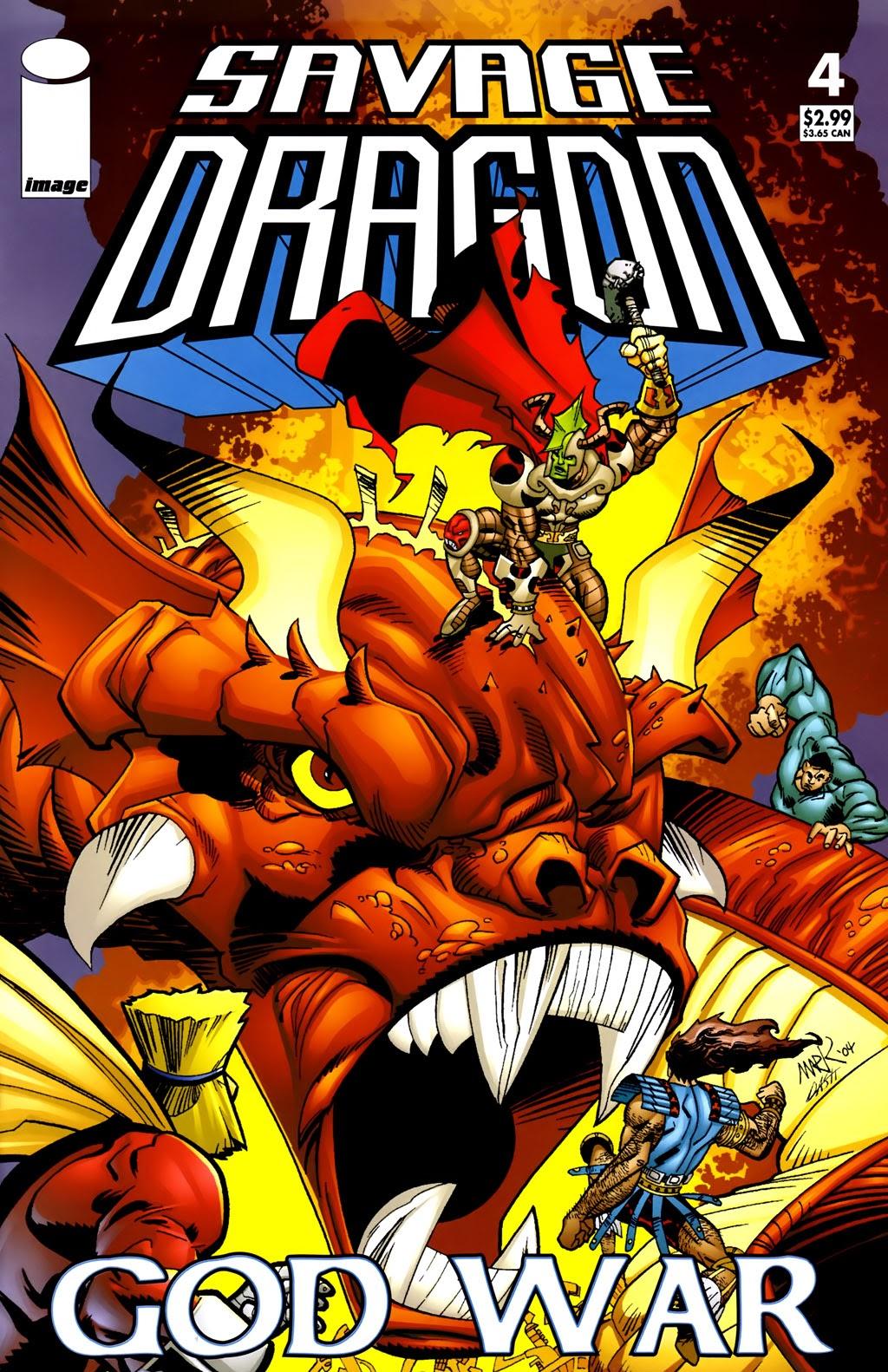 Savage Dragon: God War 4 Page 1
