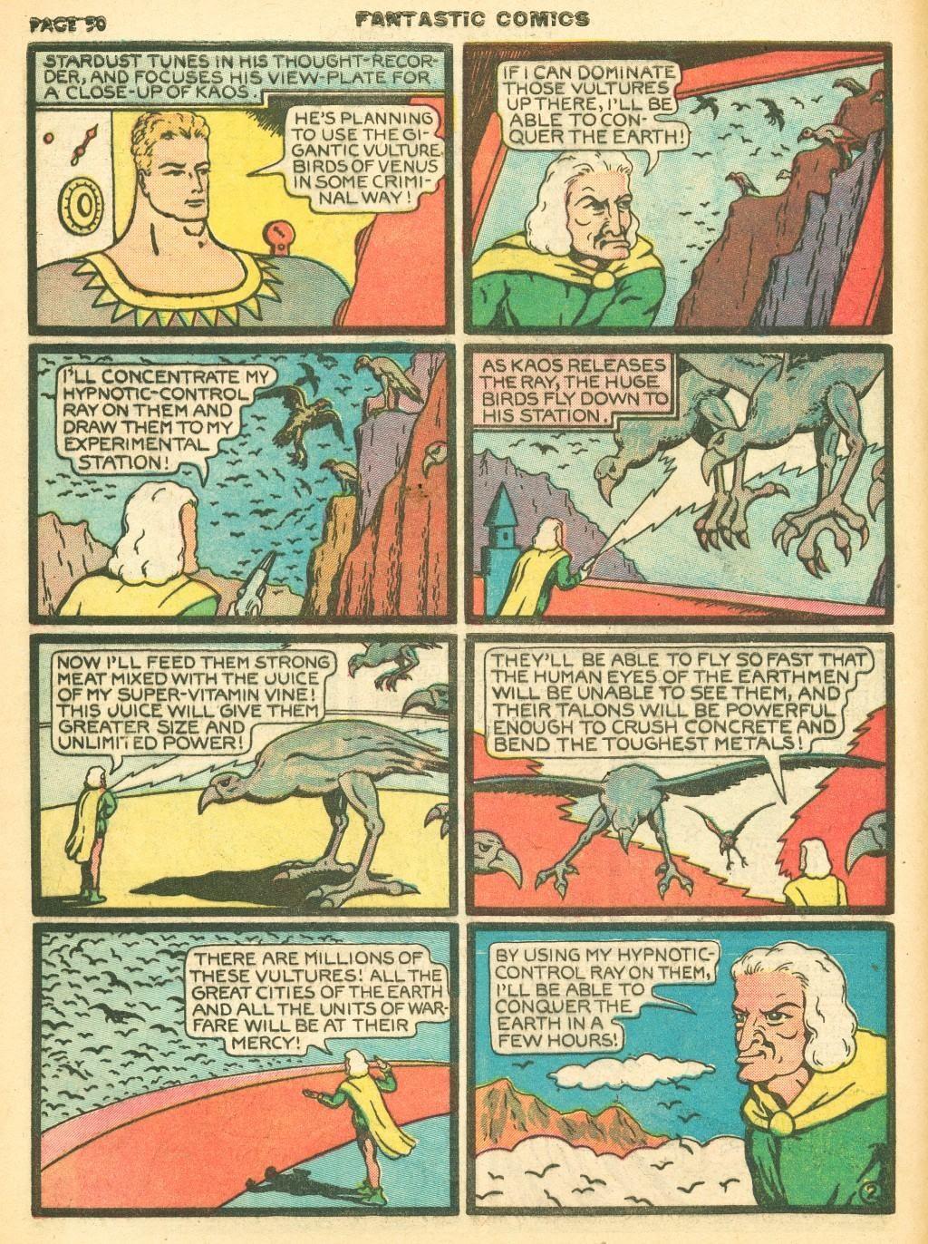 Read online Fantastic Comics comic -  Issue #12 - 52