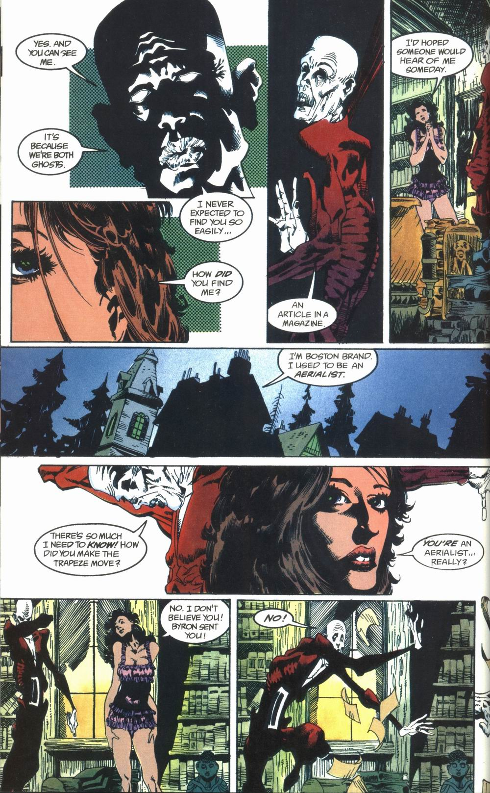 Read online Deadman: Love After Death comic -  Issue #1 - 14
