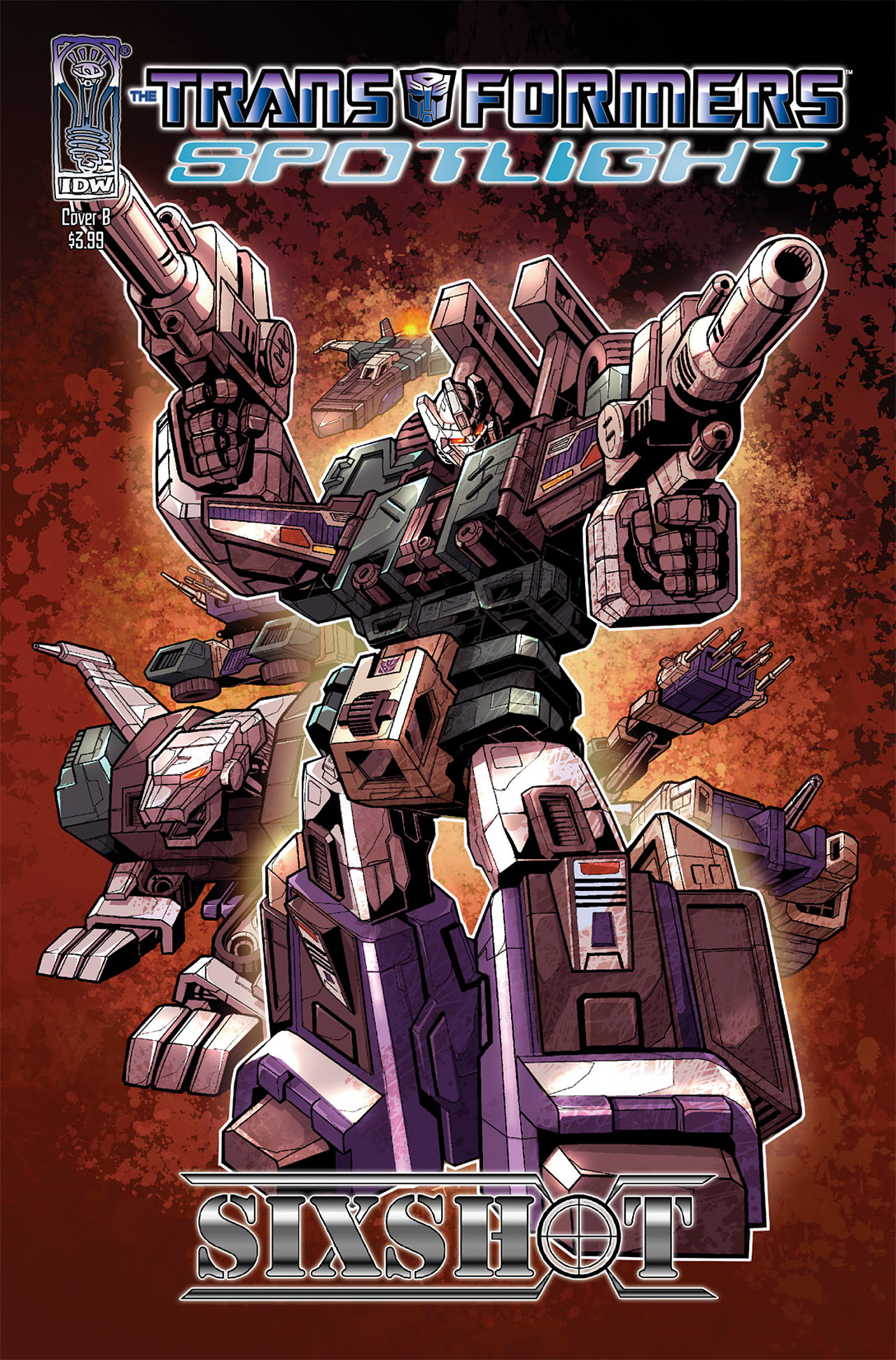 Read online Transformers Spotlight: Sixshot comic -  Issue # Full - 2