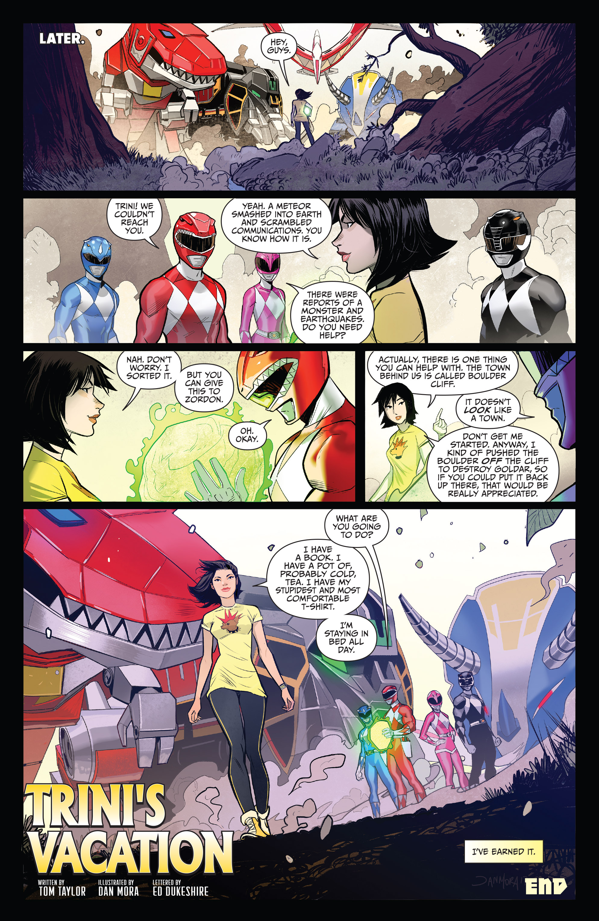 Read online Mighty Morphin Power Rangers comic -  Issue # _Annual 2017 - 20