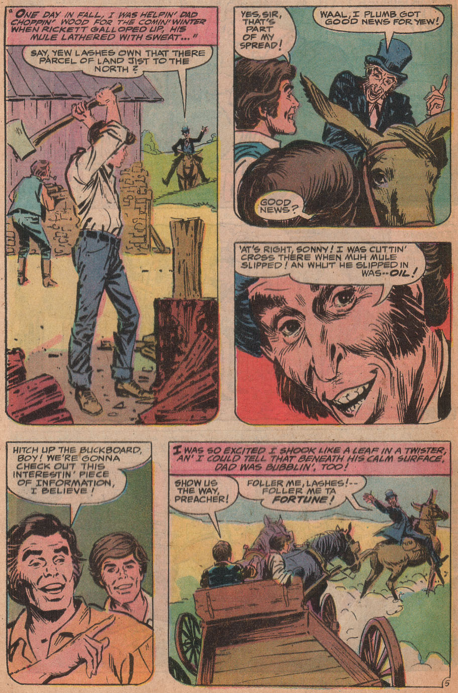 Read online All-Star Western (1970) comic -  Issue #9 - 40