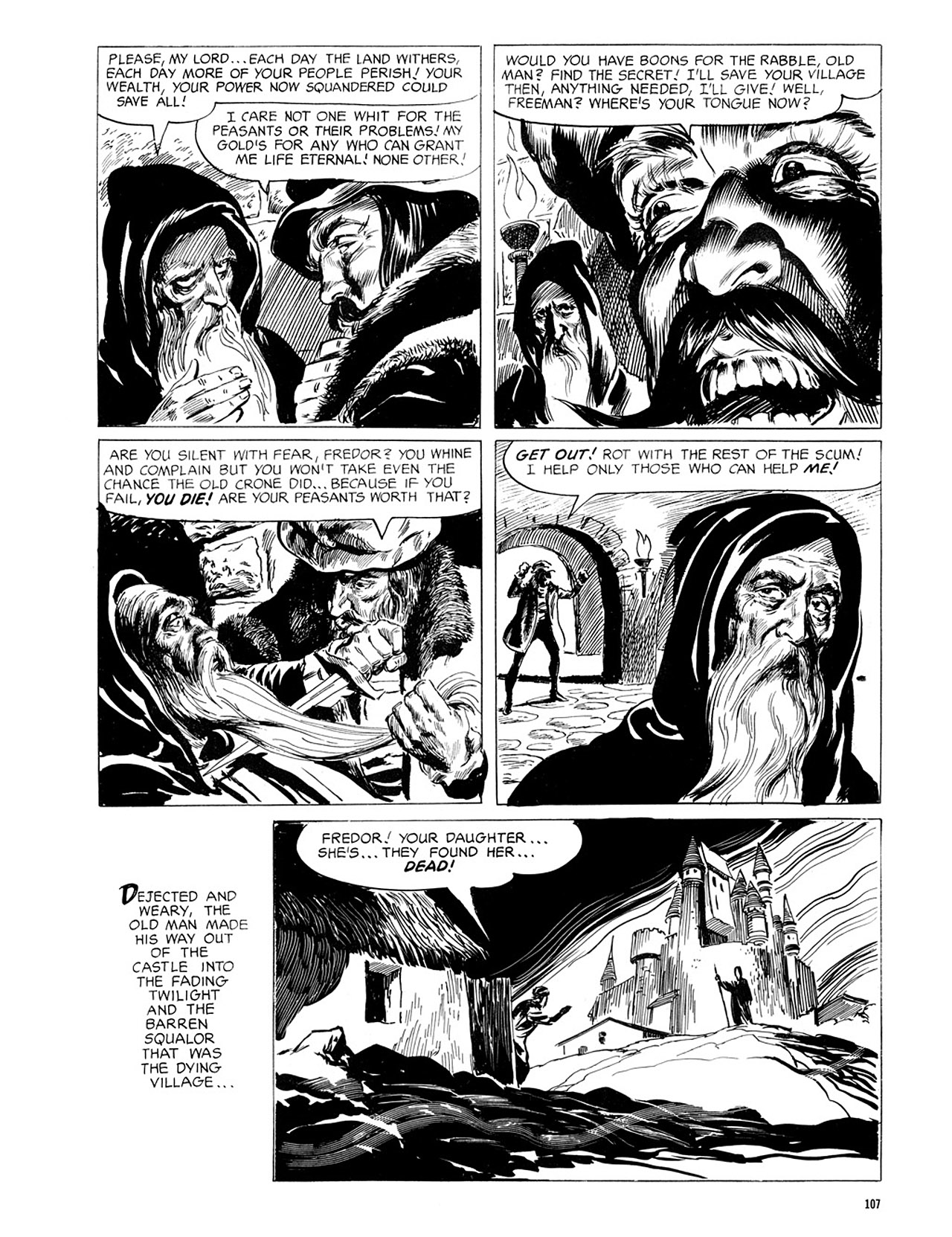 Read online Eerie Archives comic -  Issue # TPB 2 - 108