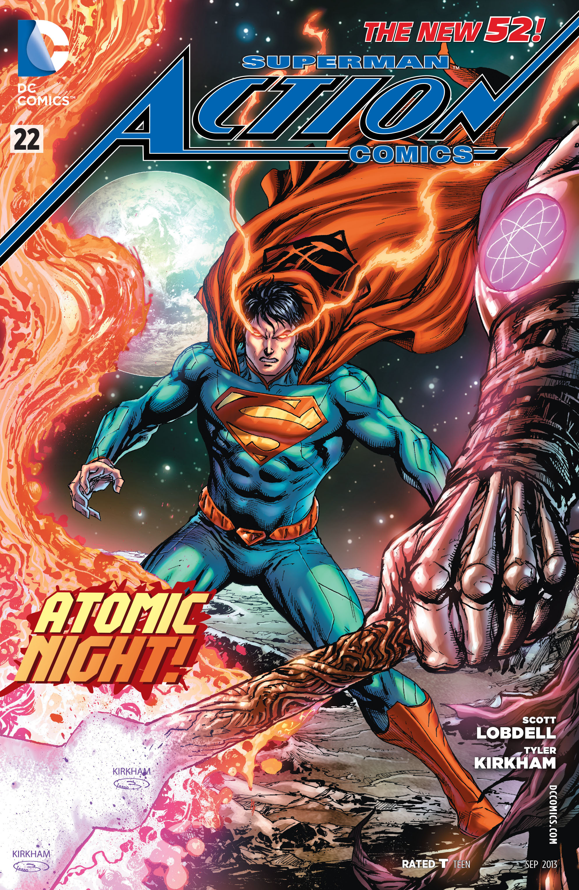 Read online Action Comics (2011) comic -  Issue #22 - 2