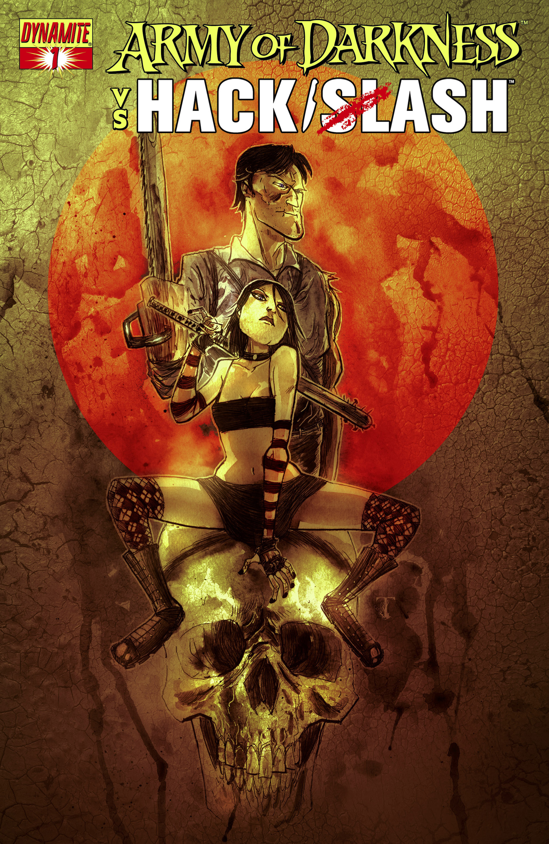 Read online Army of Darkness vs. Hack/Slash comic -  Issue #1 - 3