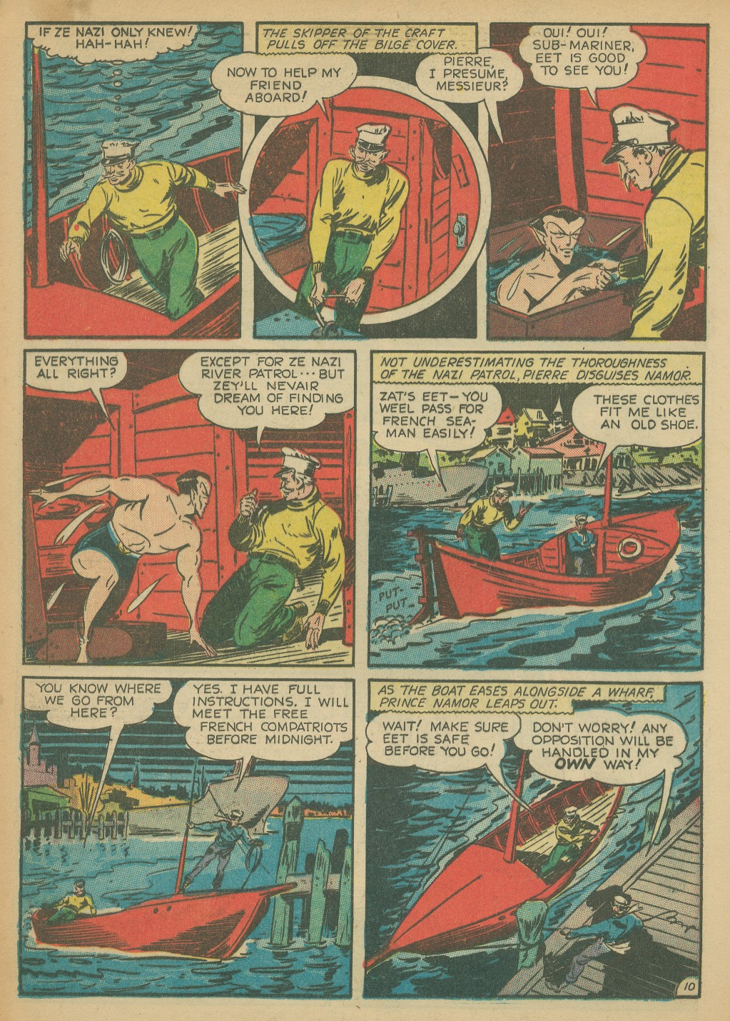 Read online All-Winners Comics comic -  Issue #8 - 38