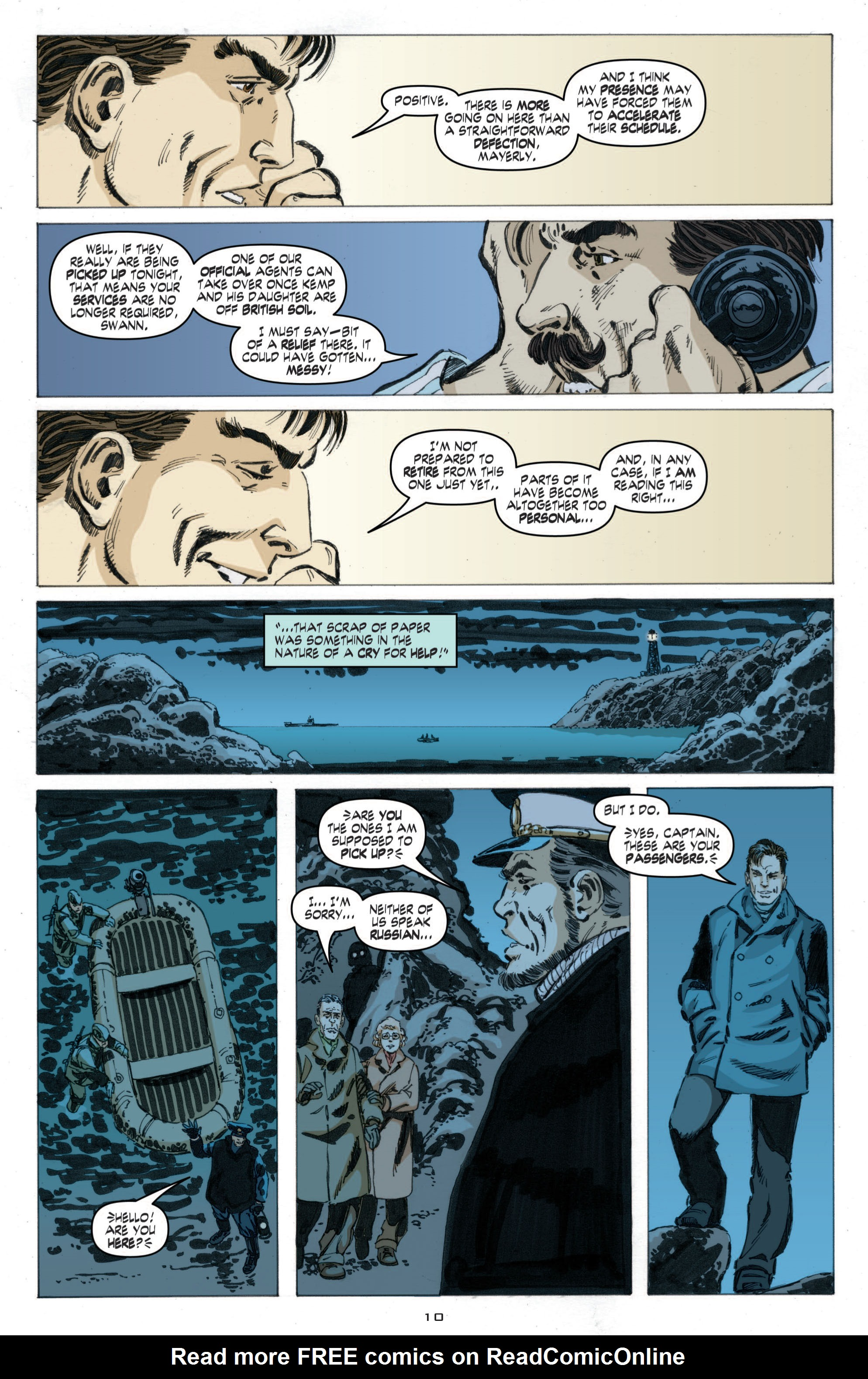 Read online Cold War comic -  Issue # TPB - 68
