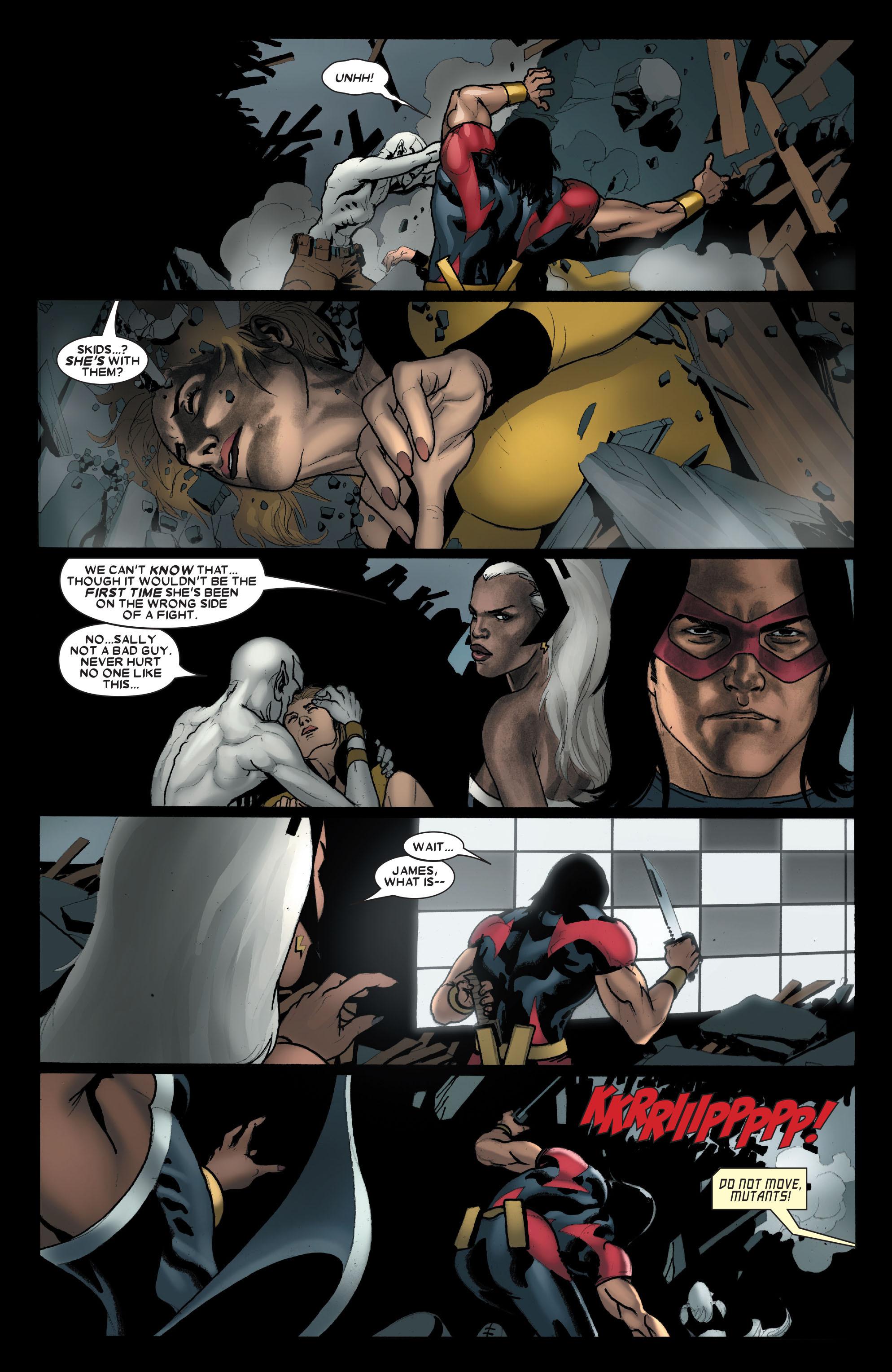 Read online Uncanny X-Men (1963) comic -  Issue #489 - 20