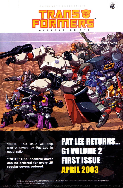 Read online Transformers Armada comic -  Issue #8 - 26