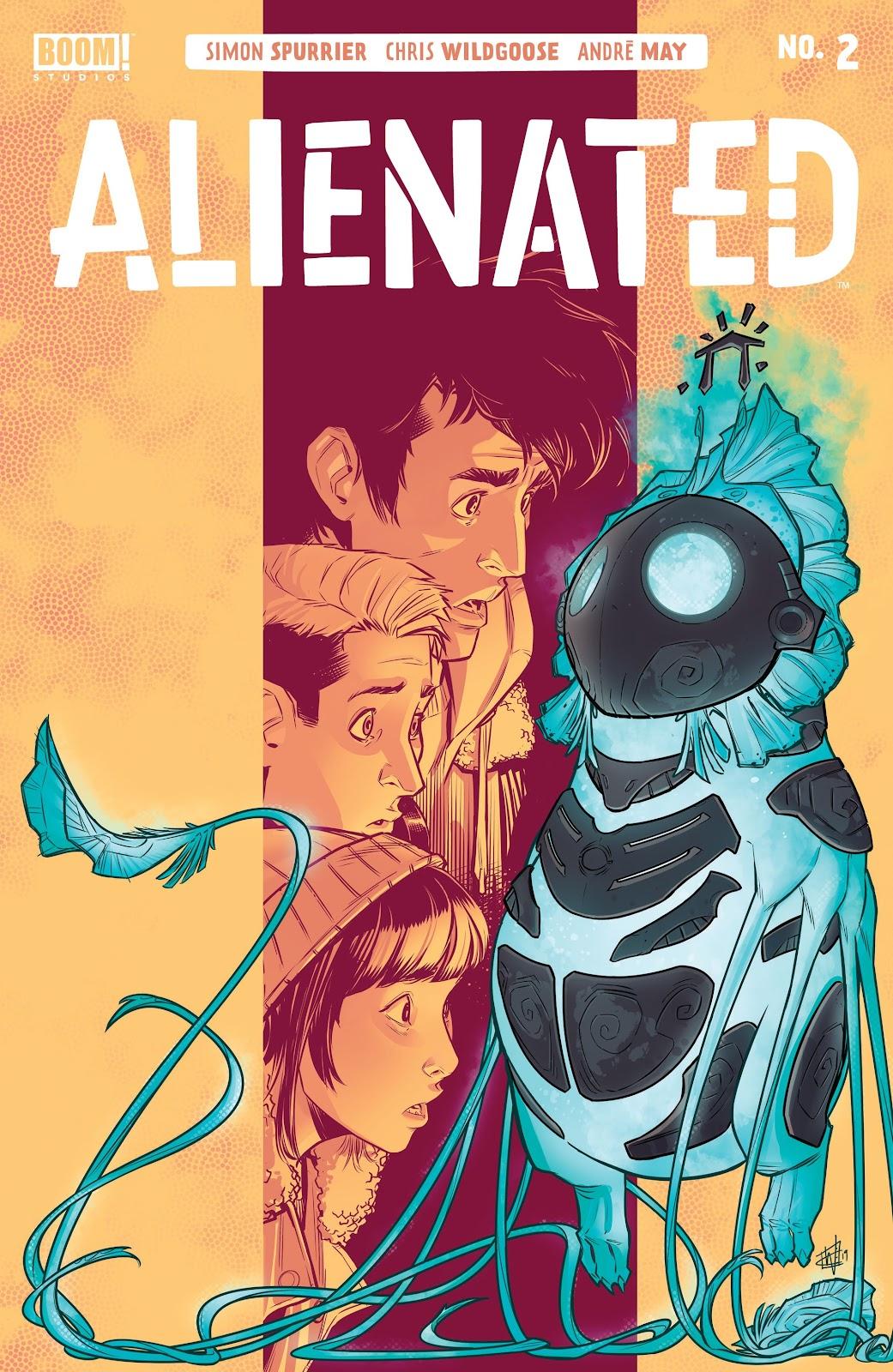 Read online Alienated comic -  Issue #2 - 1