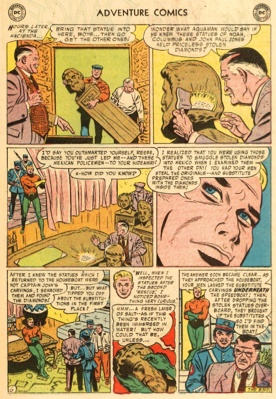Read online Adventure Comics (1938) comic -  Issue #228 - 21