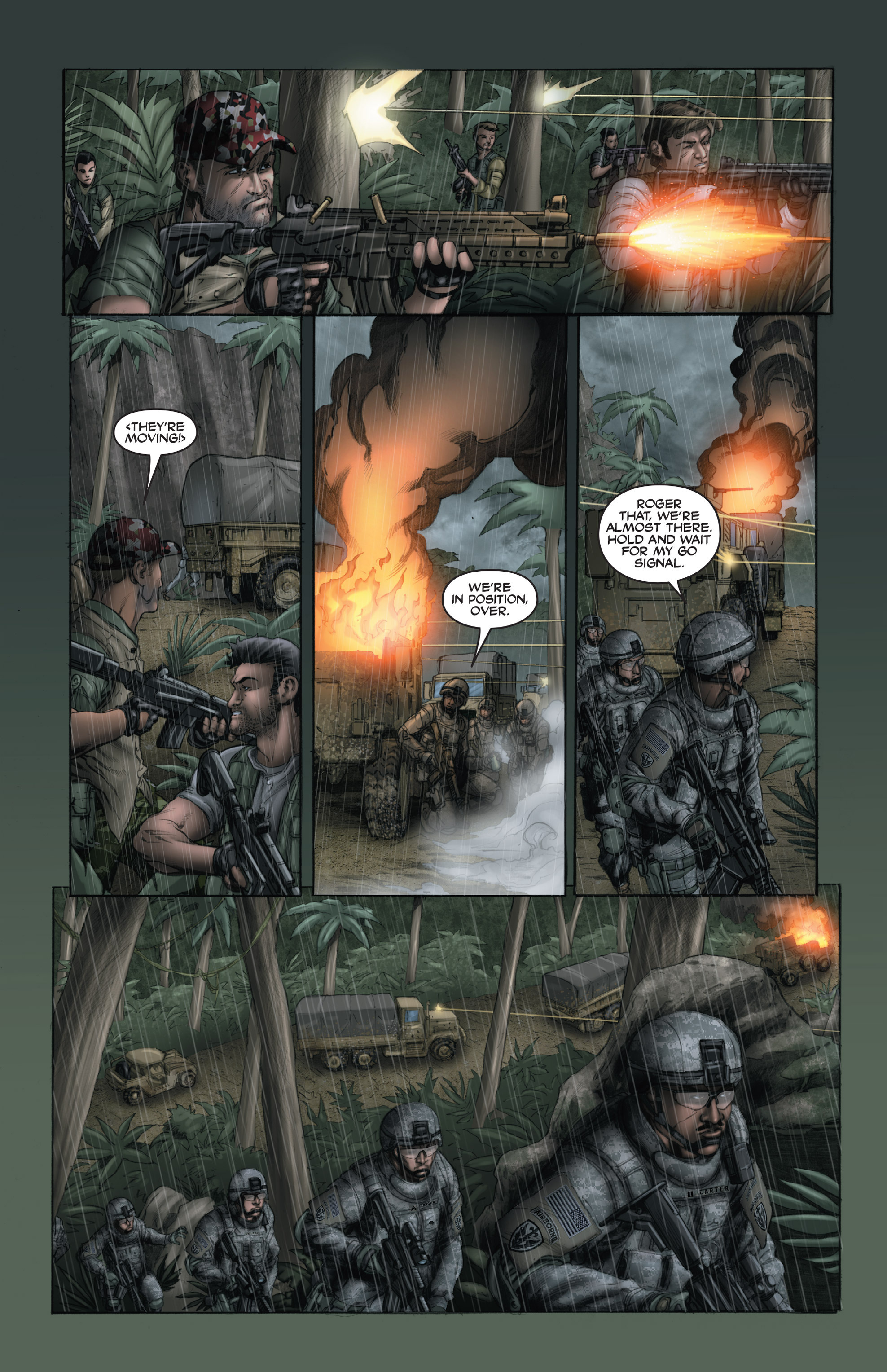 Read online America's Army comic -  Issue #15 - 17