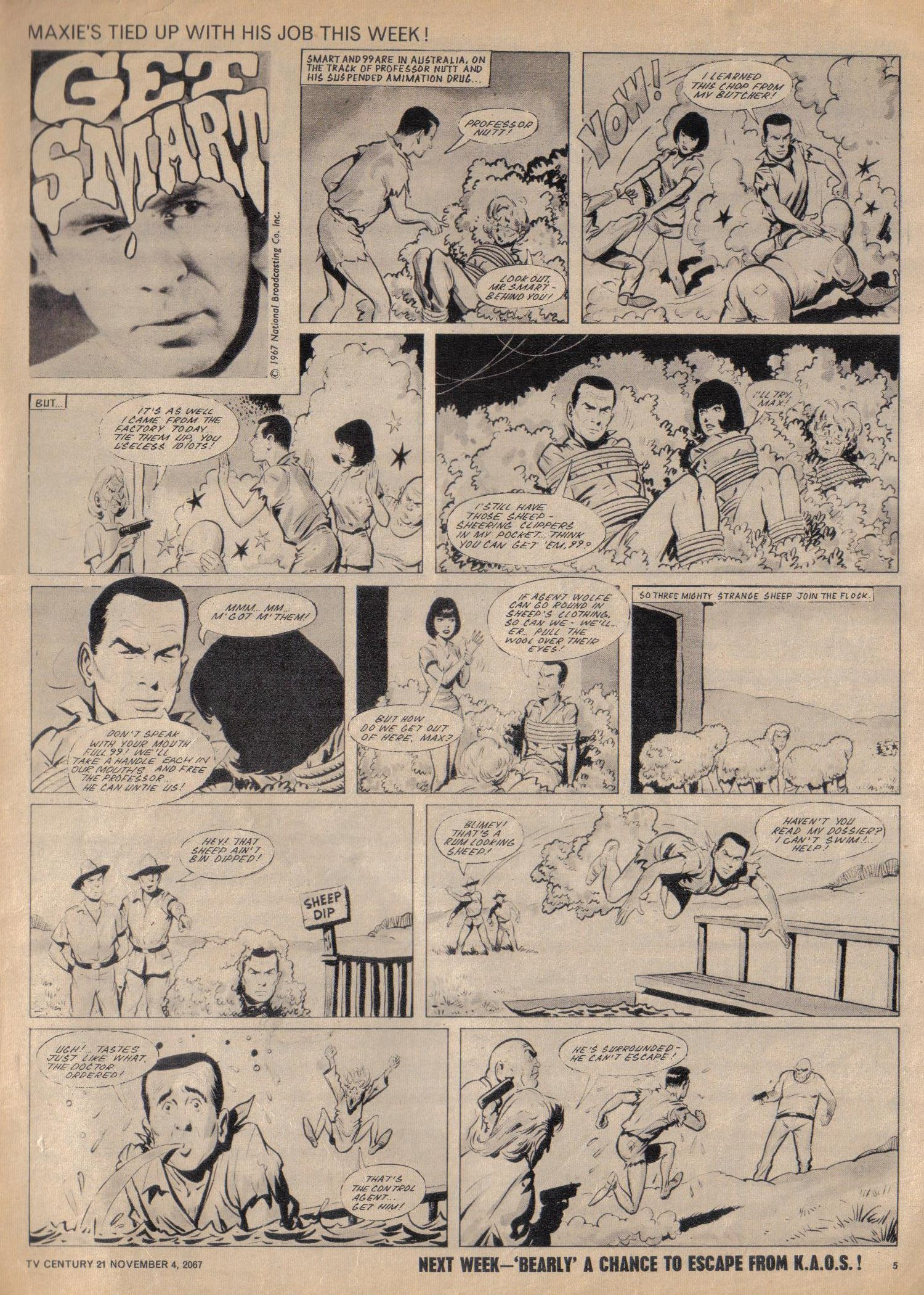 Read online TV Century 21 (TV 21) comic -  Issue #146 - 5