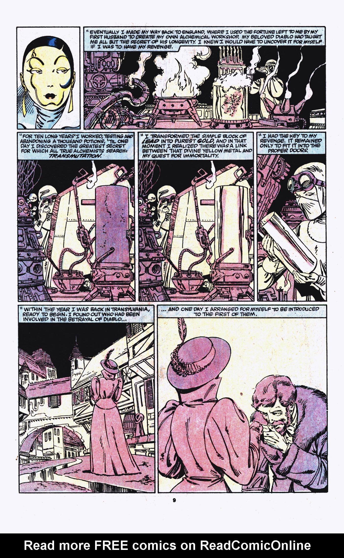 Read online Alpha Flight (1983) comic -  Issue #21 - 10